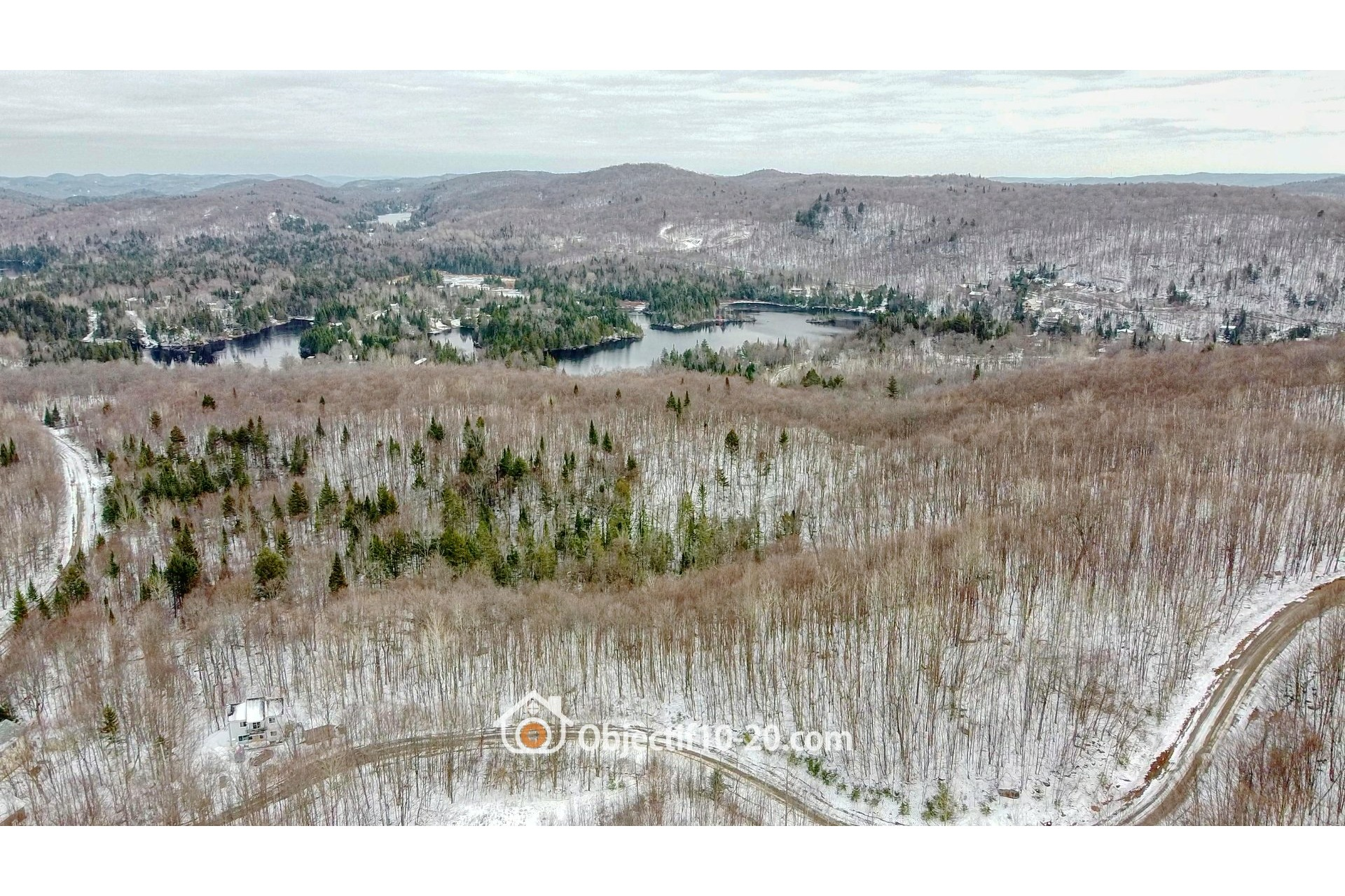 image 3 - Land For sale Saint-Adolphe-d'Howard