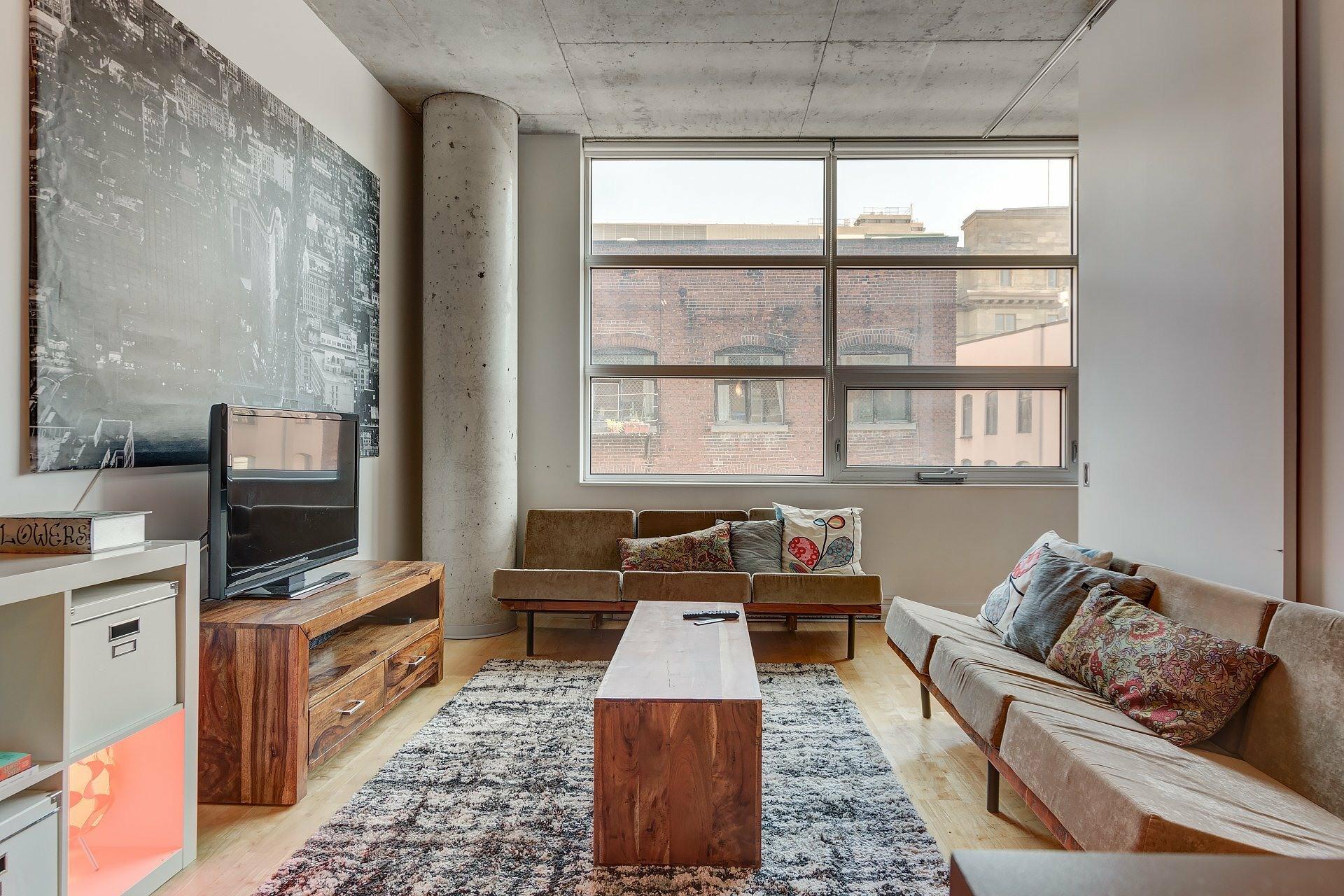 image 3 - Apartment For rent Ville-Marie Montréal  - 3 rooms