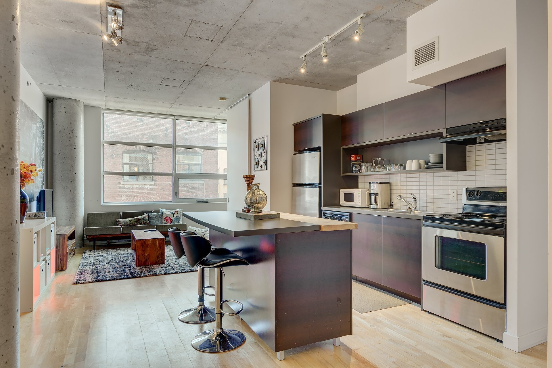 image 7 - Apartment For rent Ville-Marie Montréal  - 3 rooms