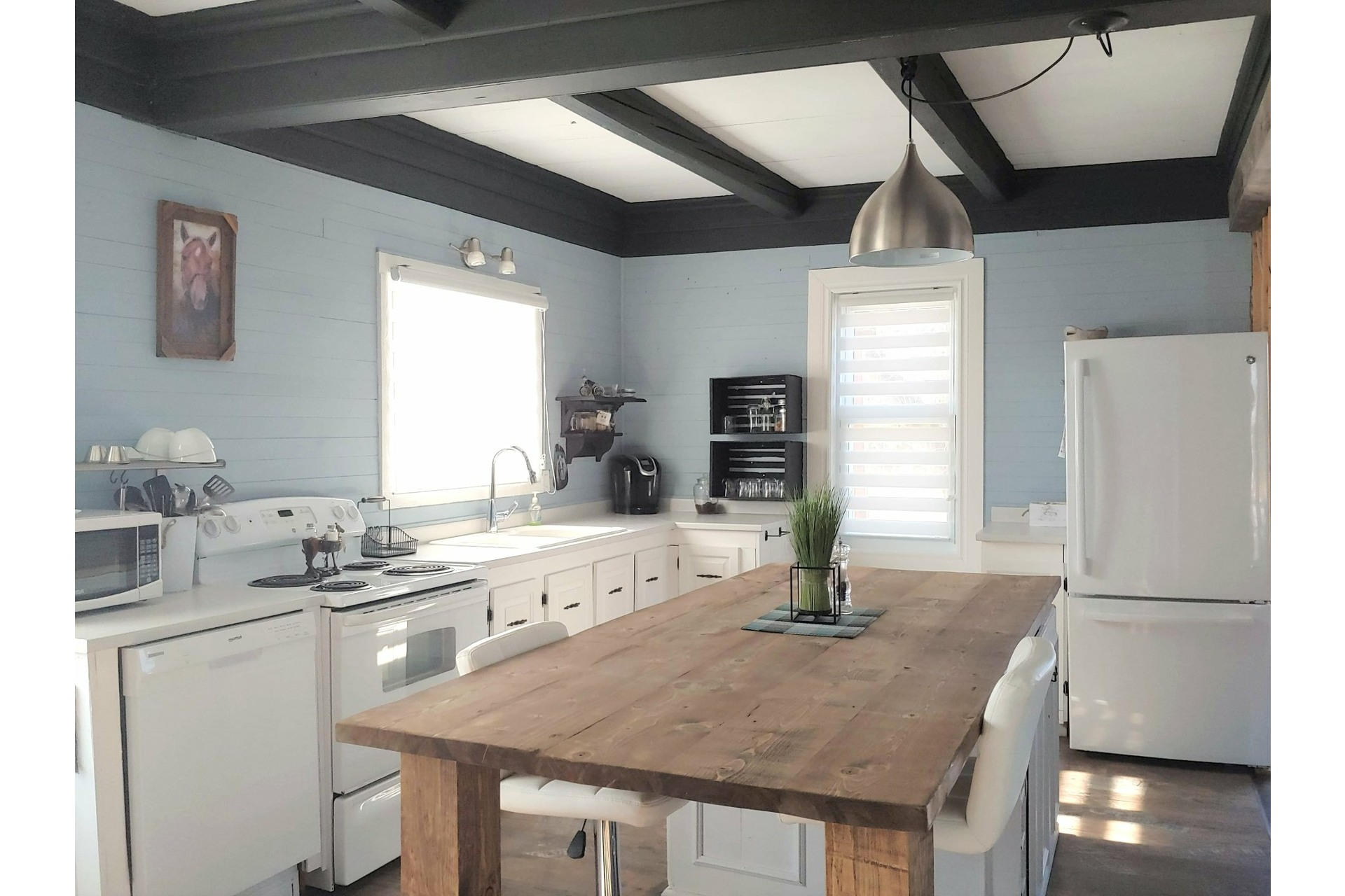 image 3 - Farmhouse For sale Notre-Dame-du-Bon-Conseil - Paroisse - 5 rooms