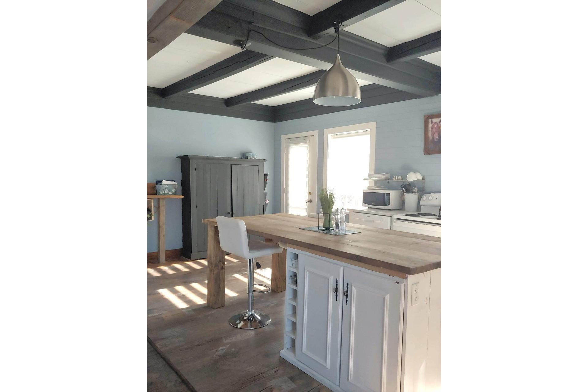 image 4 - Farmhouse For sale Notre-Dame-du-Bon-Conseil - Paroisse - 5 rooms