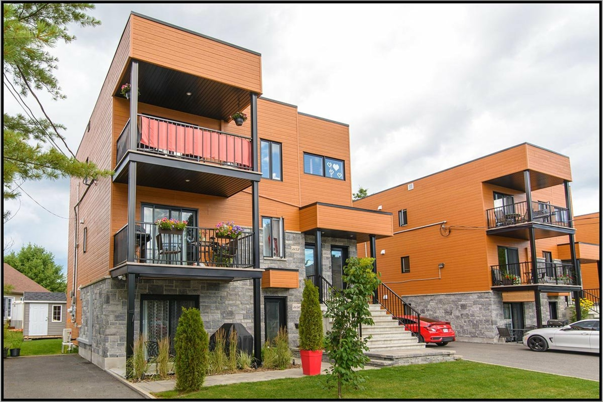 image 0 - Apartment For sale La Haute-Saint-Charles Québec  - 9 rooms
