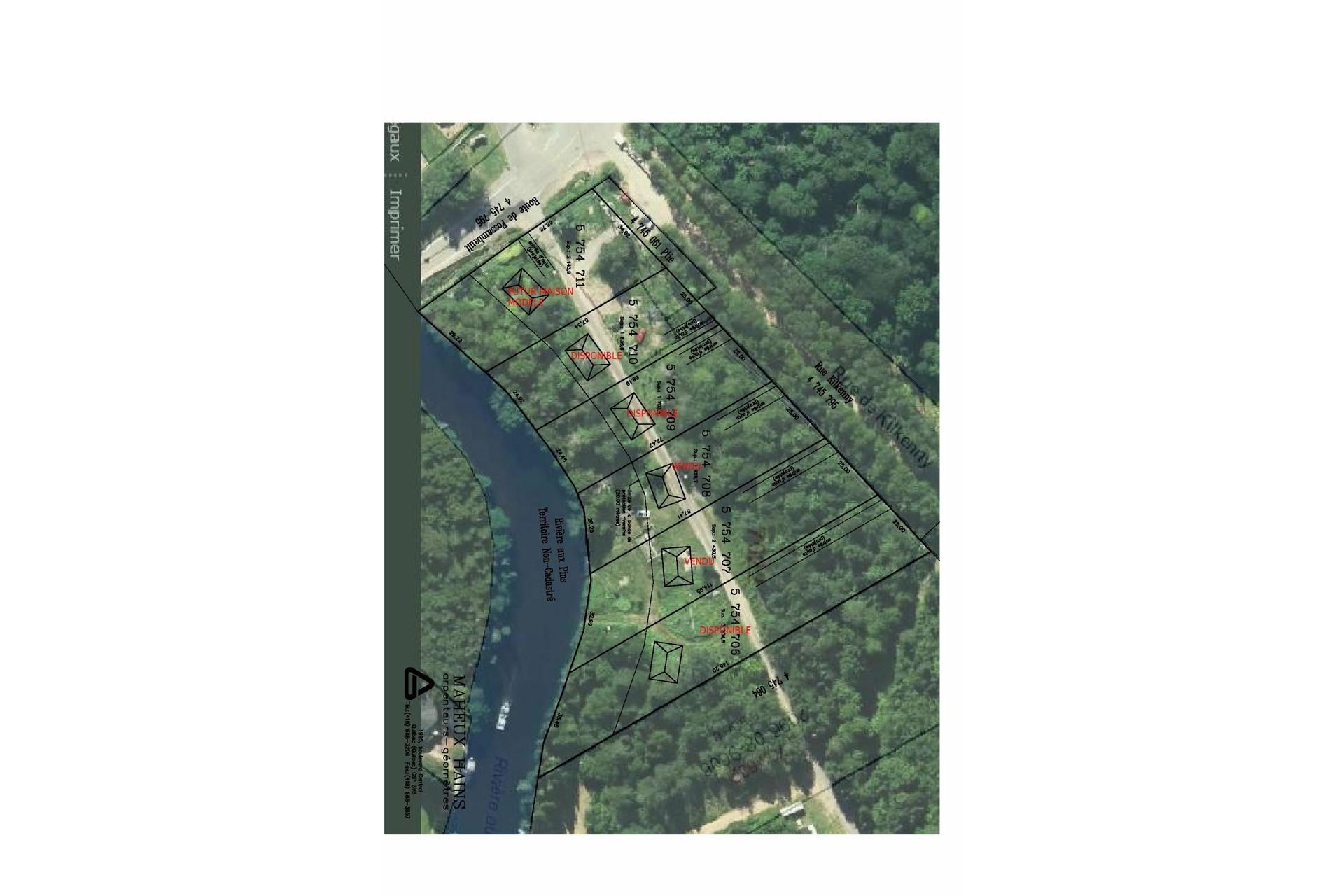 image 1 - Land For sale Fossambault-sur-le-Lac