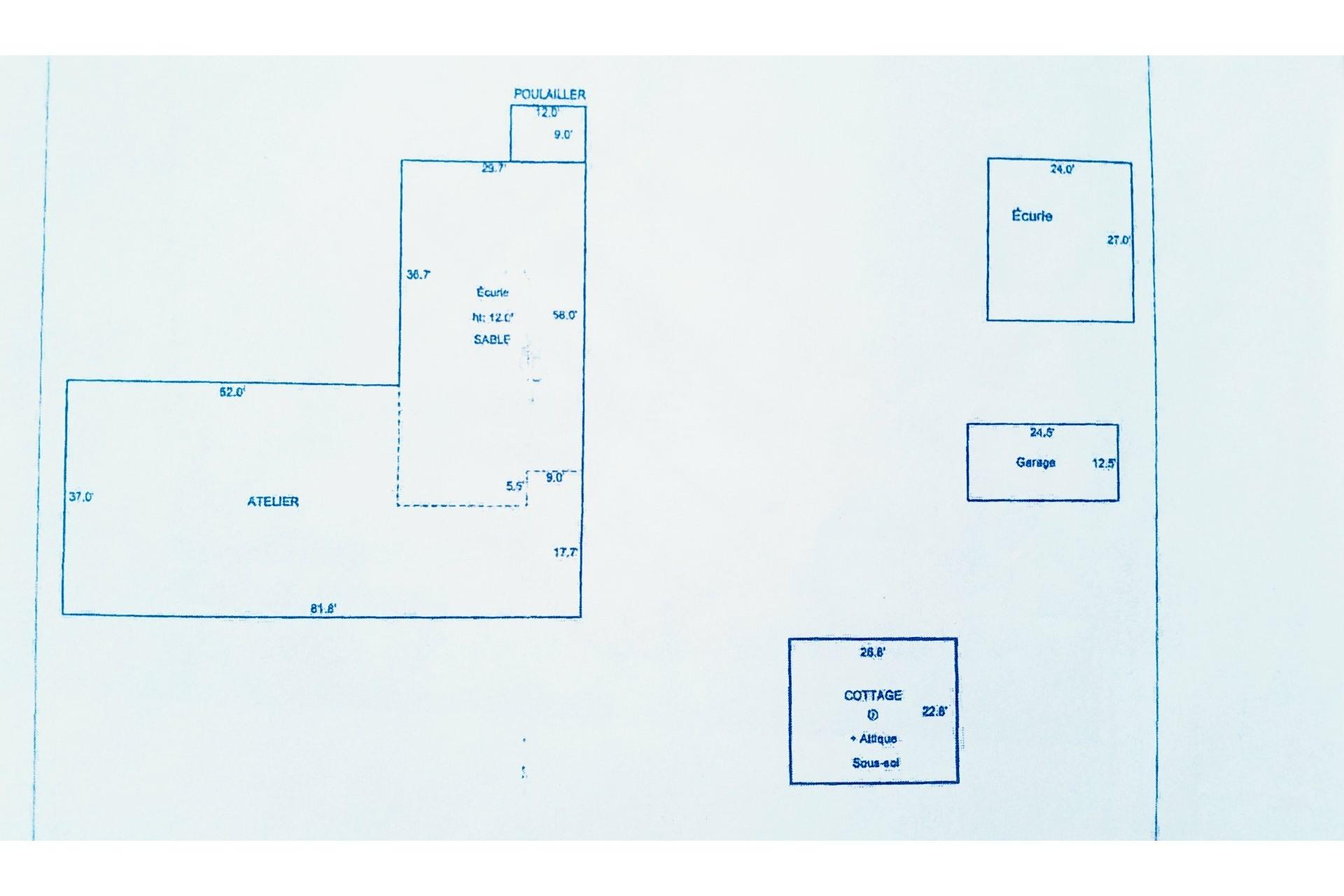 image 17 - Farmhouse For sale Notre-Dame-du-Bon-Conseil - Paroisse - 5 rooms