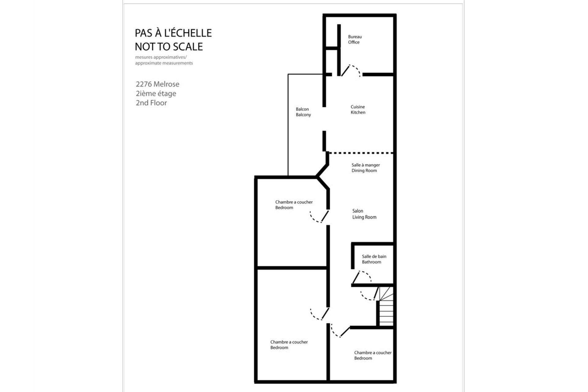 image 17 - Apartment For rent Côte-des-Neiges/Notre-Dame-de-Grâce Montréal  - 6 rooms