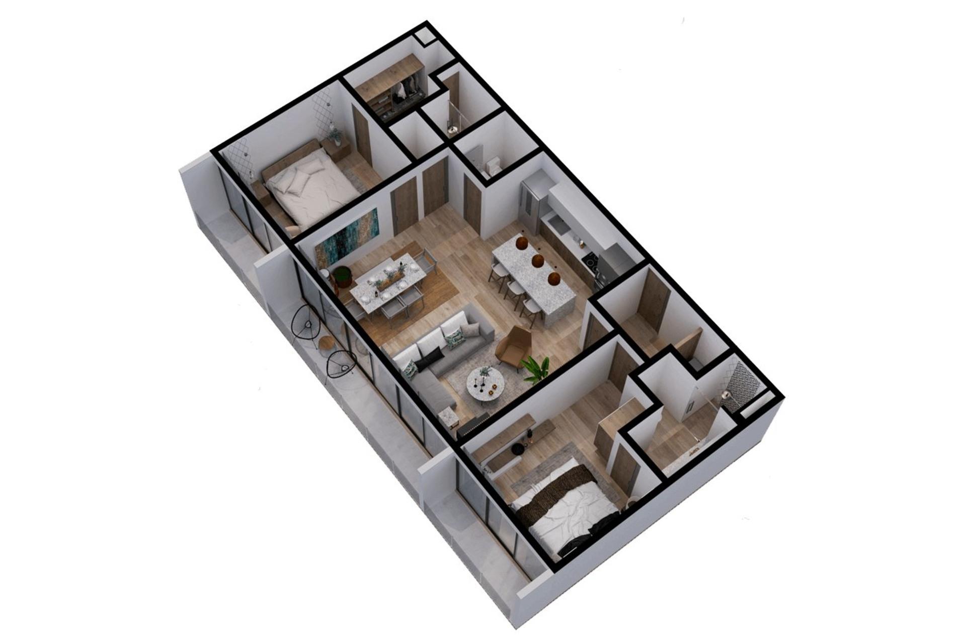 image 11 - Departamento En venta Autres pays - 6 habitaciones