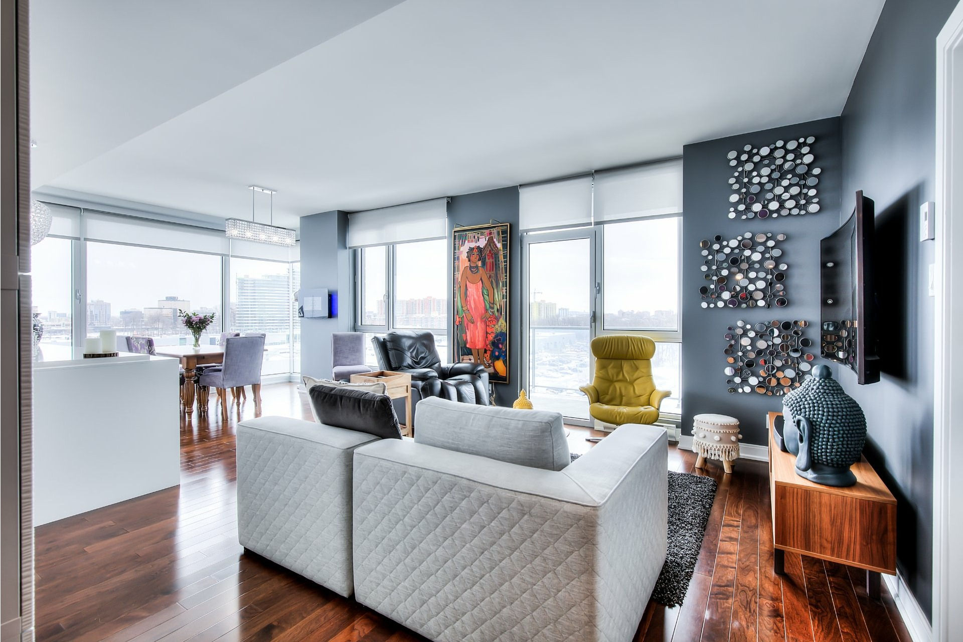 image 8 - Apartment For sale Chomedey Laval  - 9 rooms