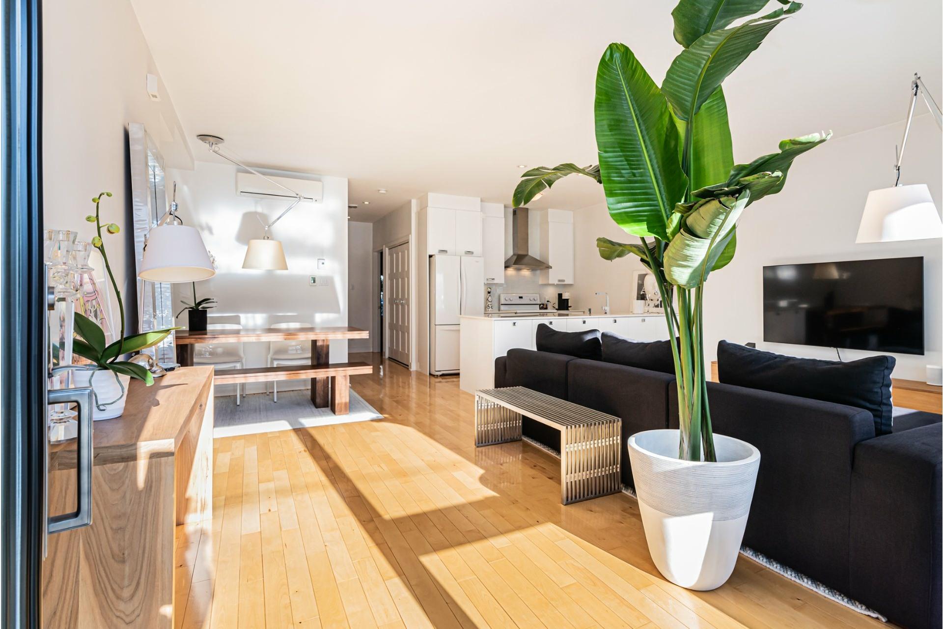 image 1 - Apartment For sale Le Sud-Ouest Montréal  - 5 rooms