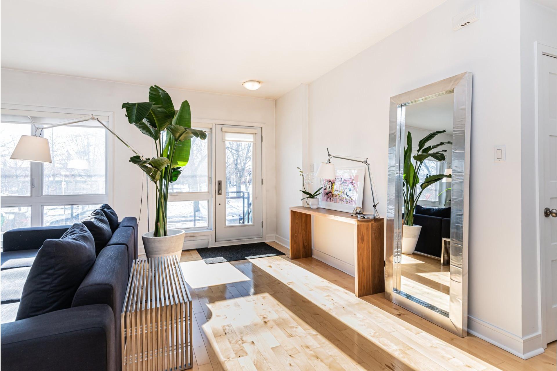 image 2 - Apartment For sale Le Sud-Ouest Montréal  - 5 rooms