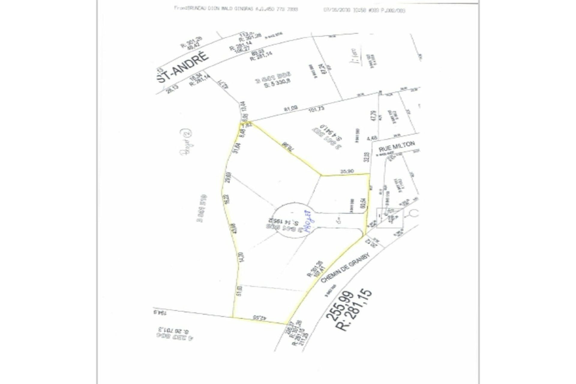 image 7 - Terrain À vendre Roxton Falls