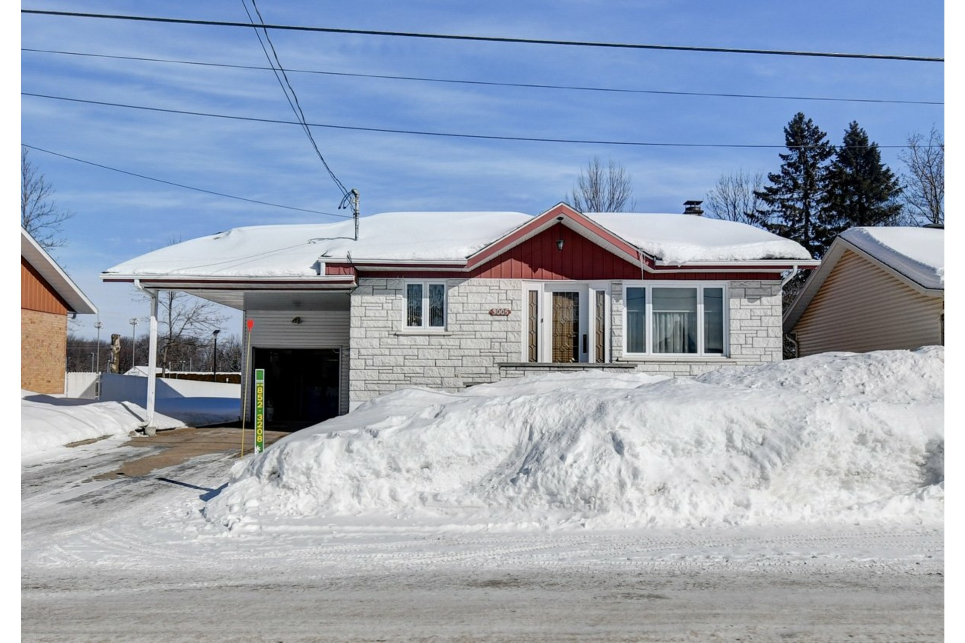 image 2 - House For sale Shawinigan - 9 rooms