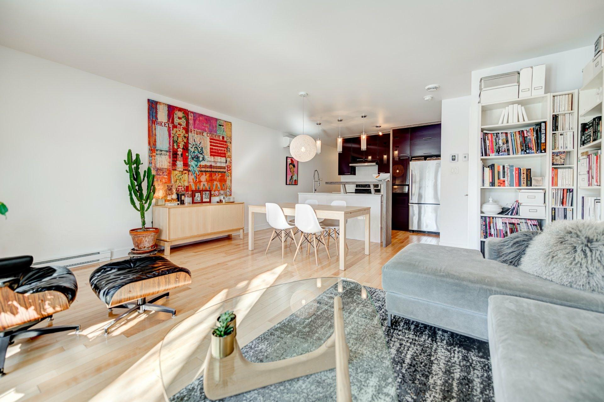 image 5 - Apartment For sale Rosemont/La Petite-Patrie Montréal  - 6 rooms