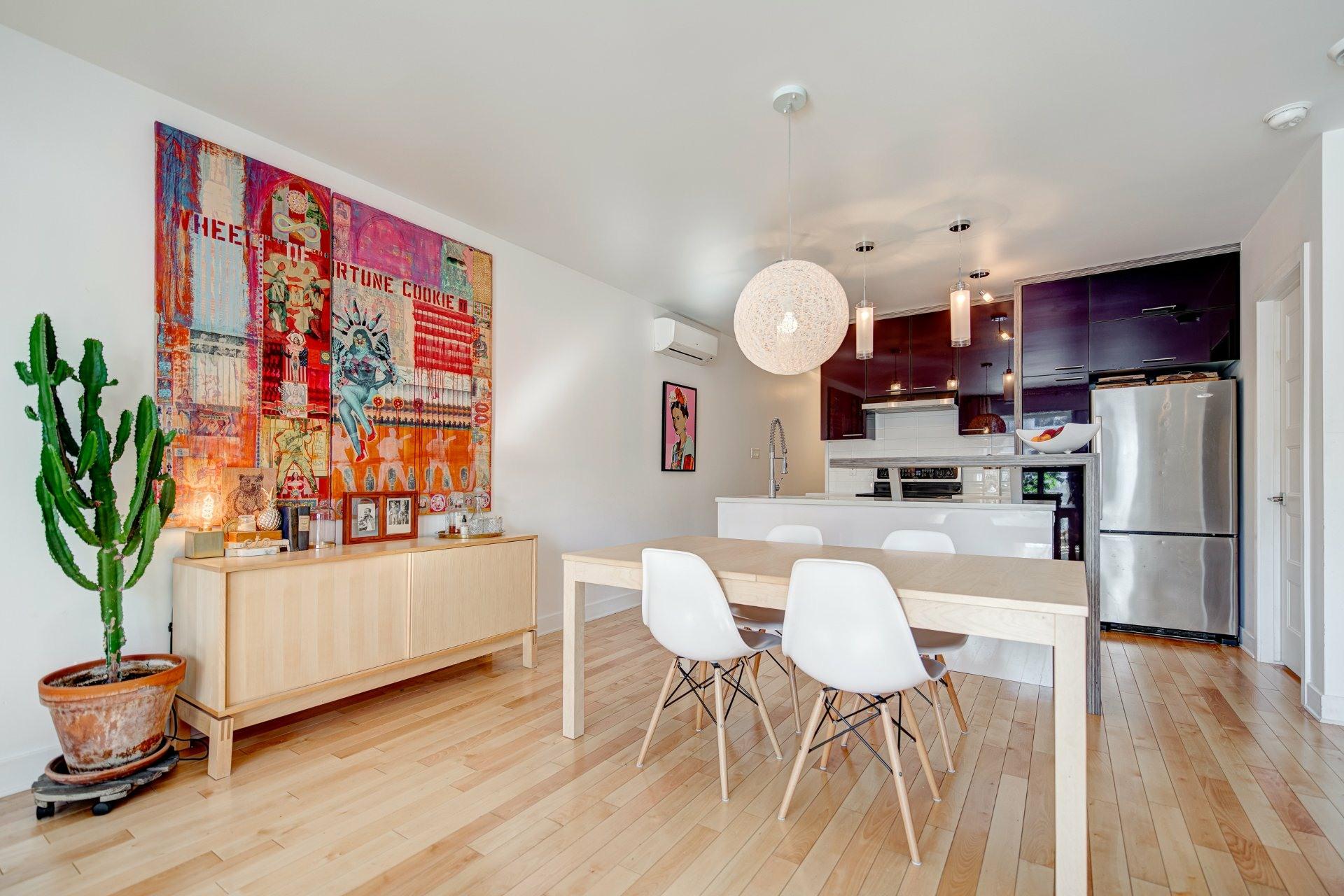 image 4 - Apartment For sale Rosemont/La Petite-Patrie Montréal  - 6 rooms