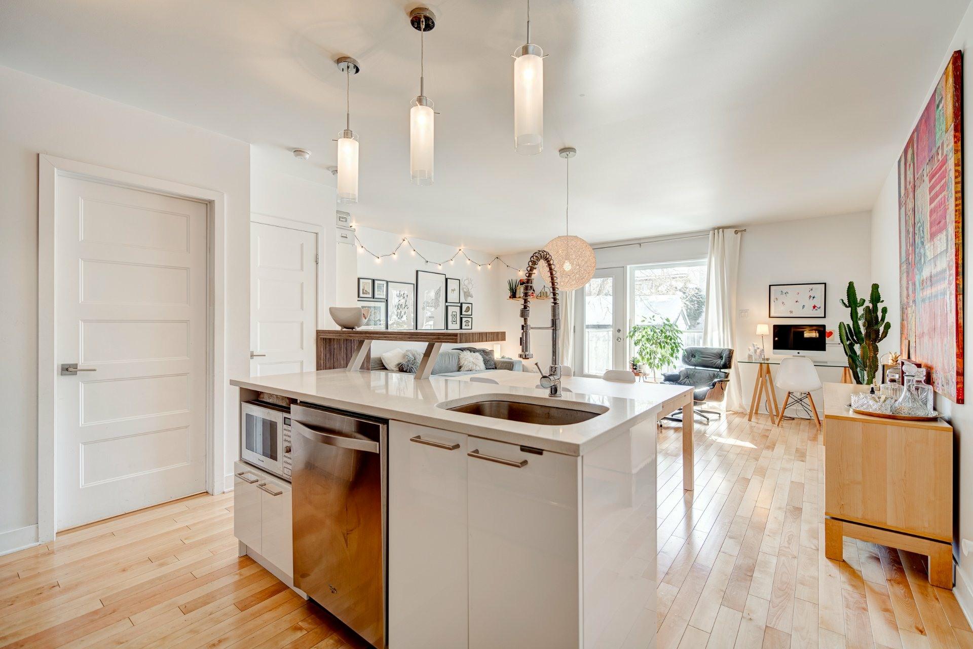 image 1 - Apartment For sale Rosemont/La Petite-Patrie Montréal  - 6 rooms