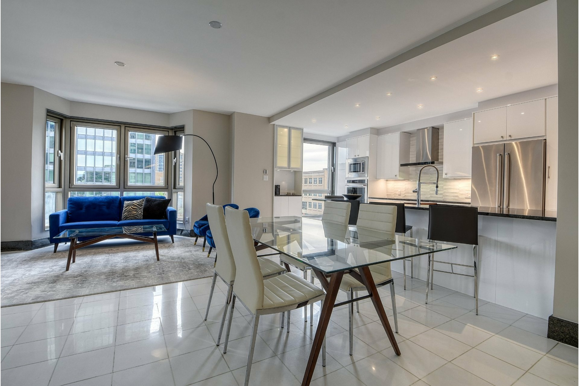 image 4 - Apartment For sale Westmount - 7 rooms