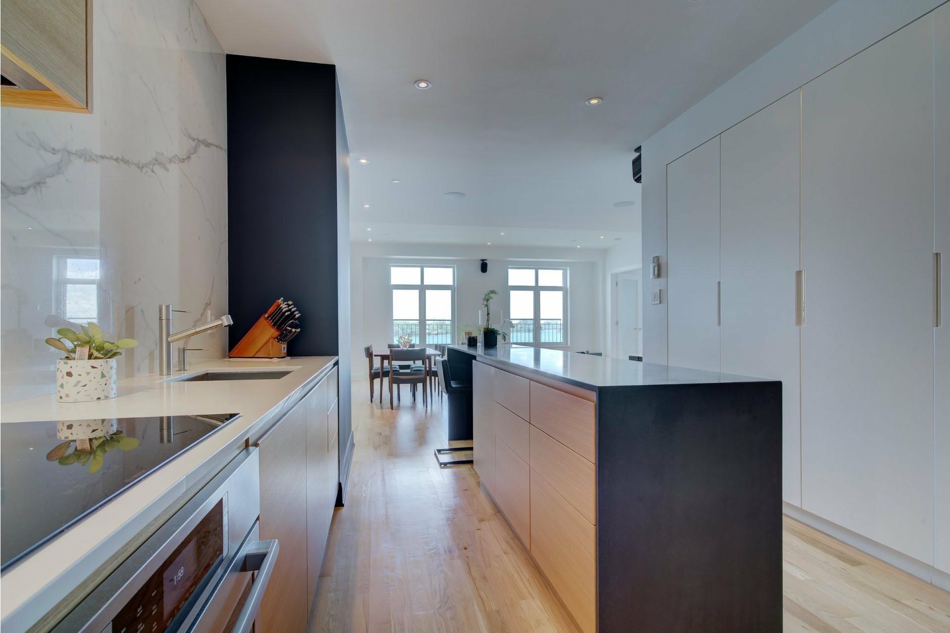 image 2 - Apartment For sale Ville-Marie Montréal  - 6 rooms