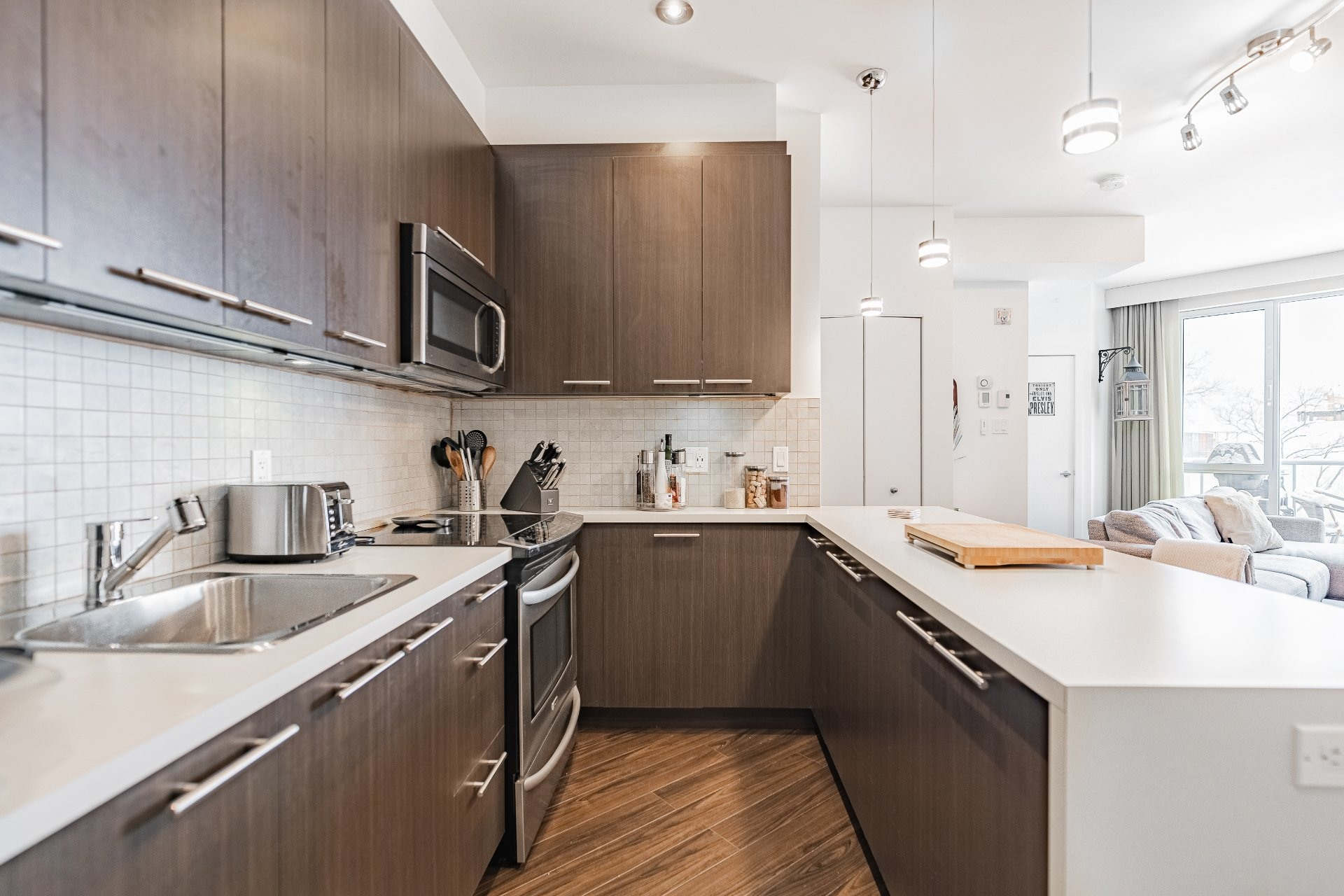 image 4 - Apartment For sale Mercier/Hochelaga-Maisonneuve Montréal  - 5 rooms
