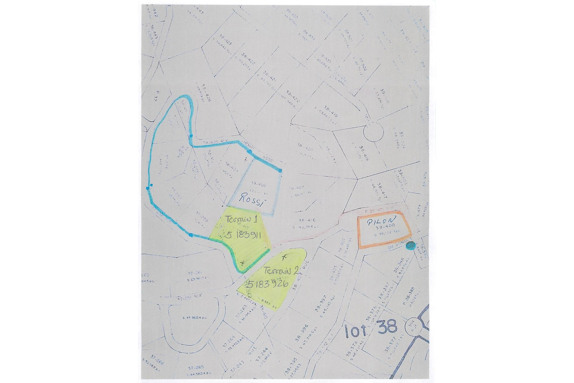 image 1 - Land For sale Chertsey