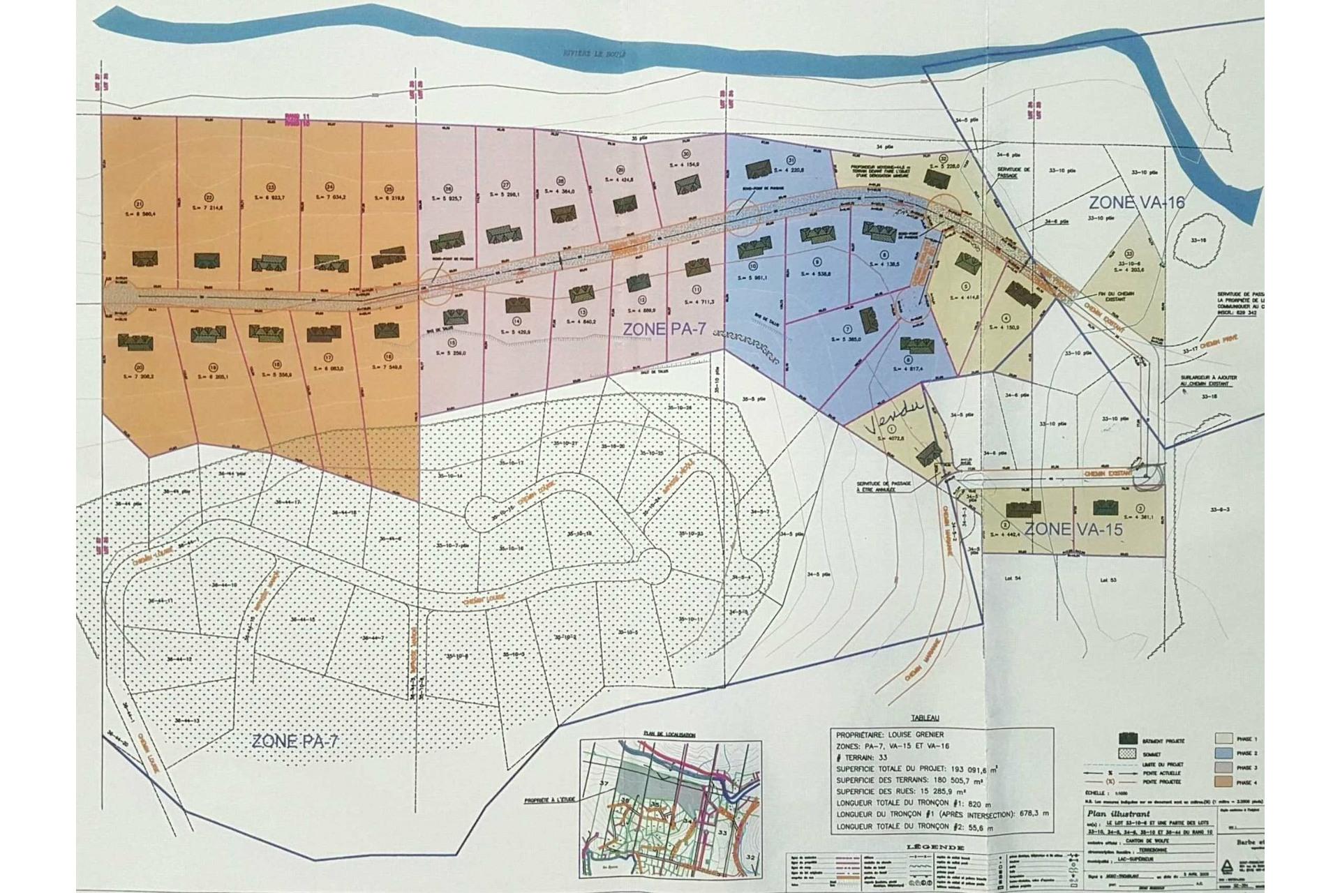 image 0 - Land For sale Lac-Supérieur
