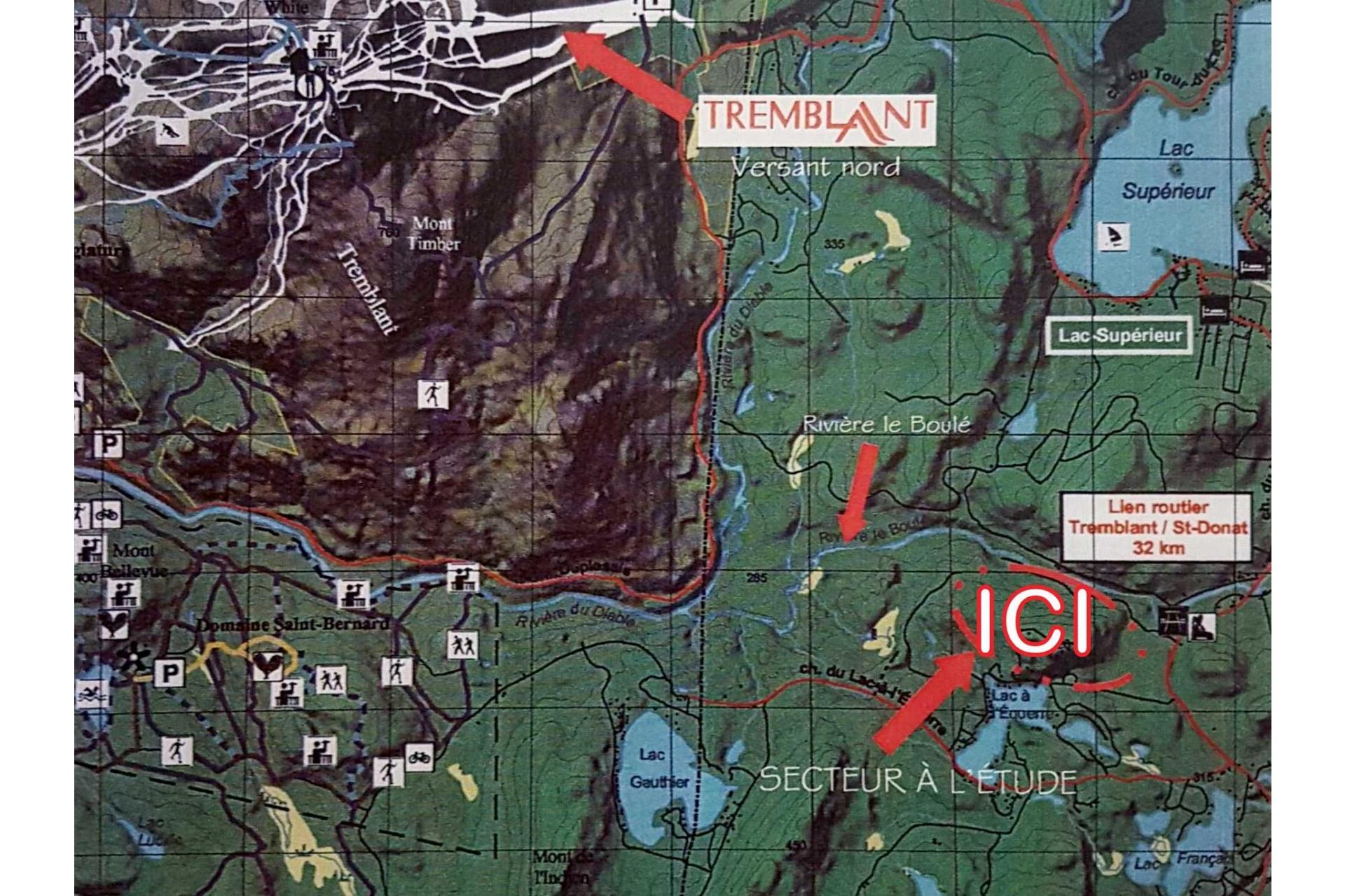 image 1 - Land For sale Lac-Supérieur