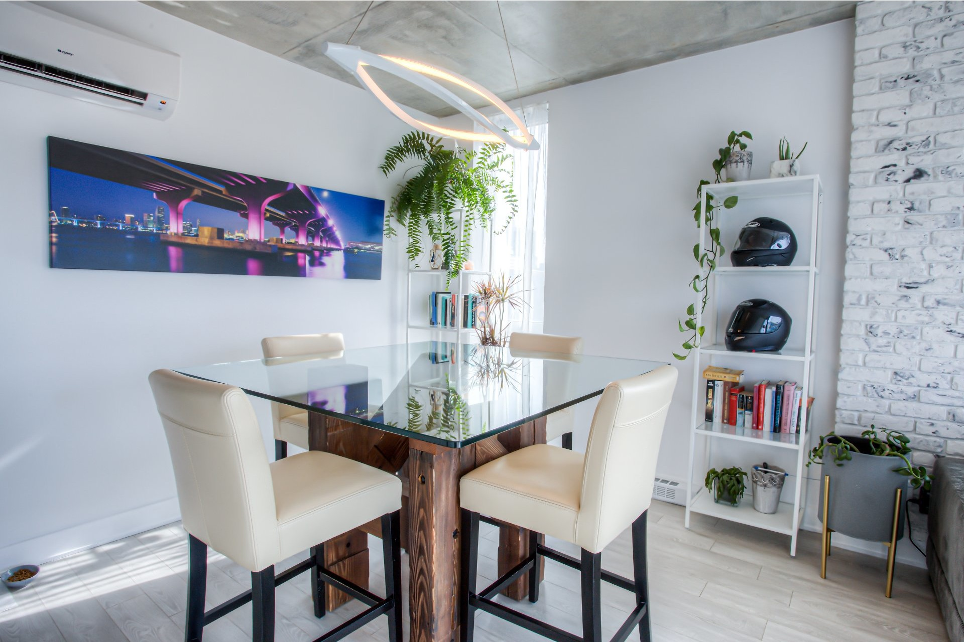 image 7 - Appartement À vendre Le Sud-Ouest Montréal  - 5 pièces