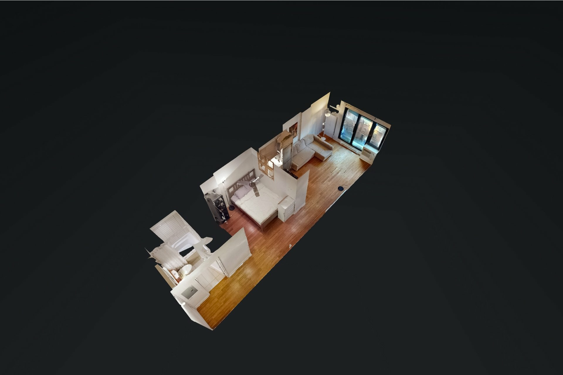 image 23 - Apartment For sale Ville-Marie Montréal  - 2 rooms
