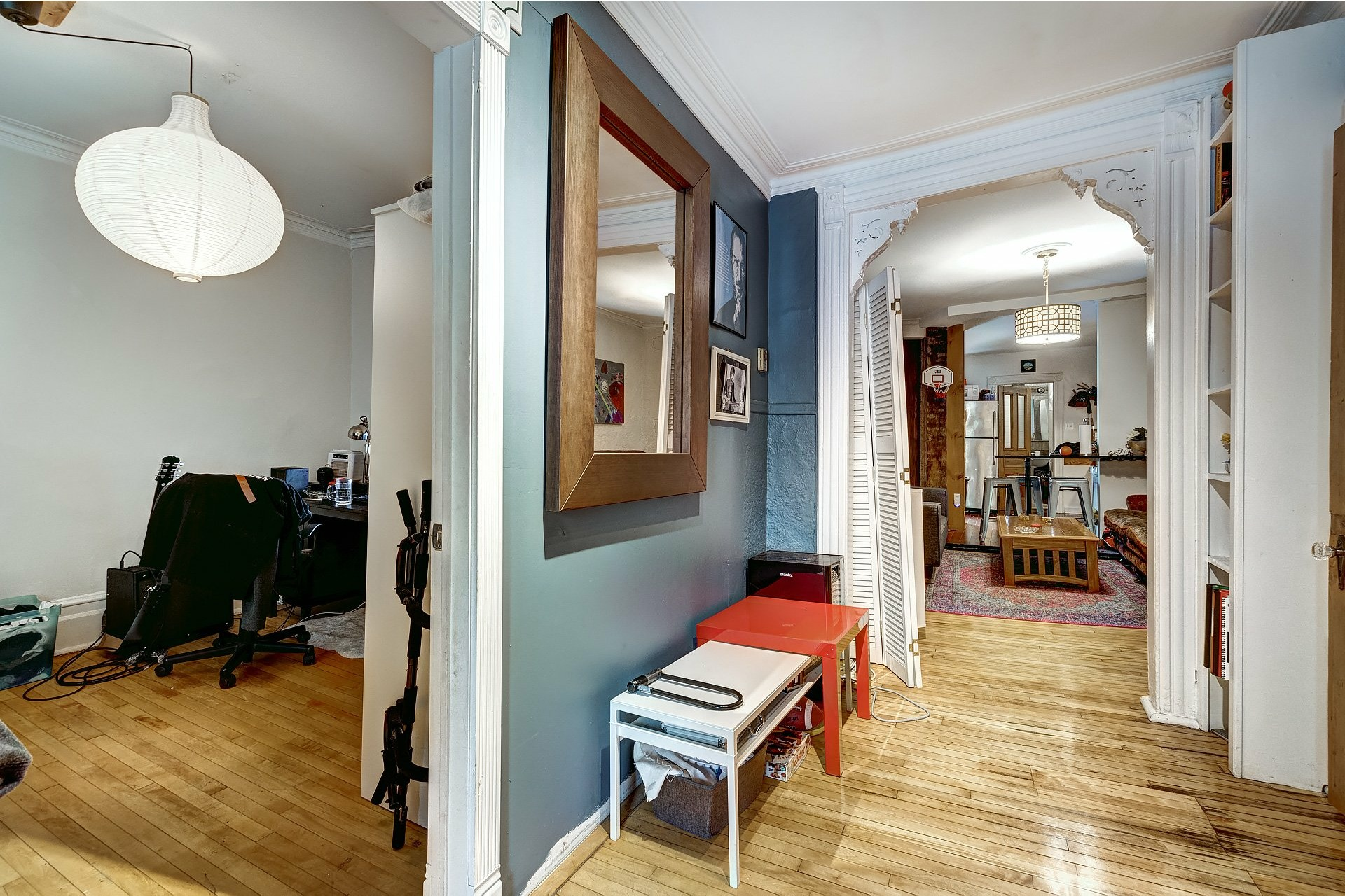 image 2 - Triplex For sale Le Plateau-Mont-Royal Montréal  - 4 rooms
