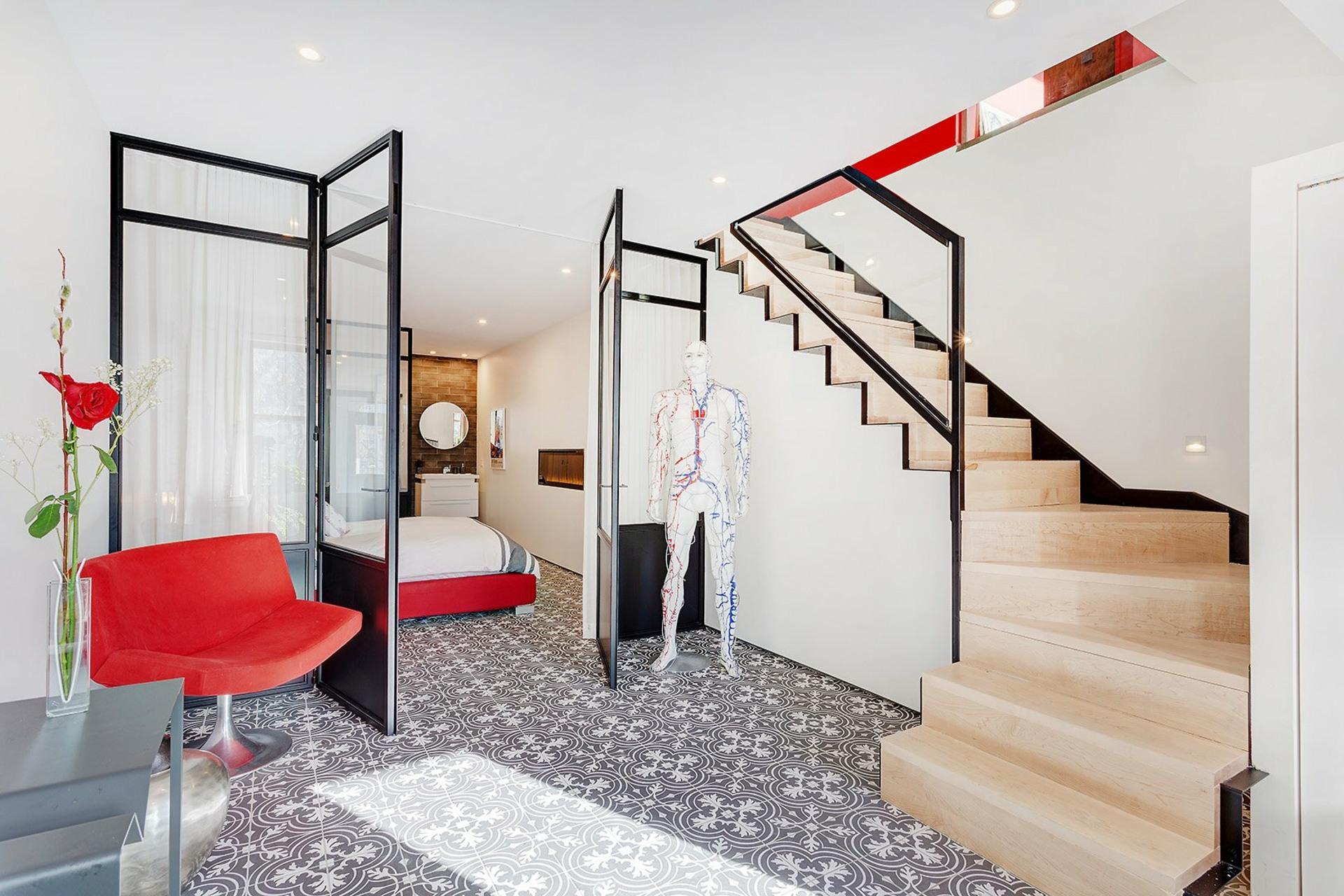 image 5 - Apartment For sale Rosemont/La Petite-Patrie Montréal  - 13 rooms