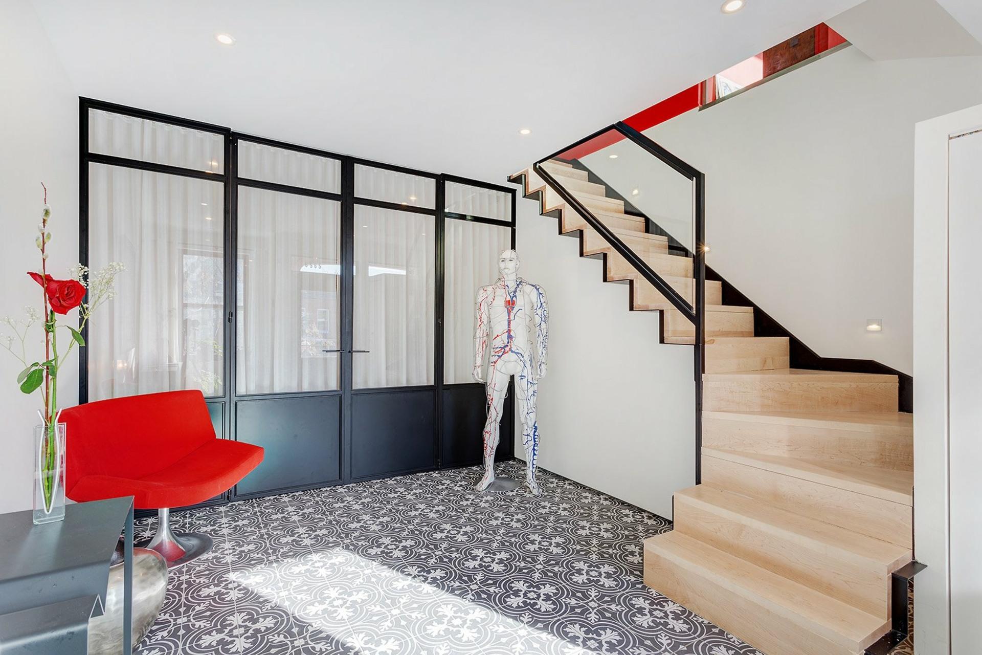 image 3 - Apartment For sale Rosemont/La Petite-Patrie Montréal  - 13 rooms