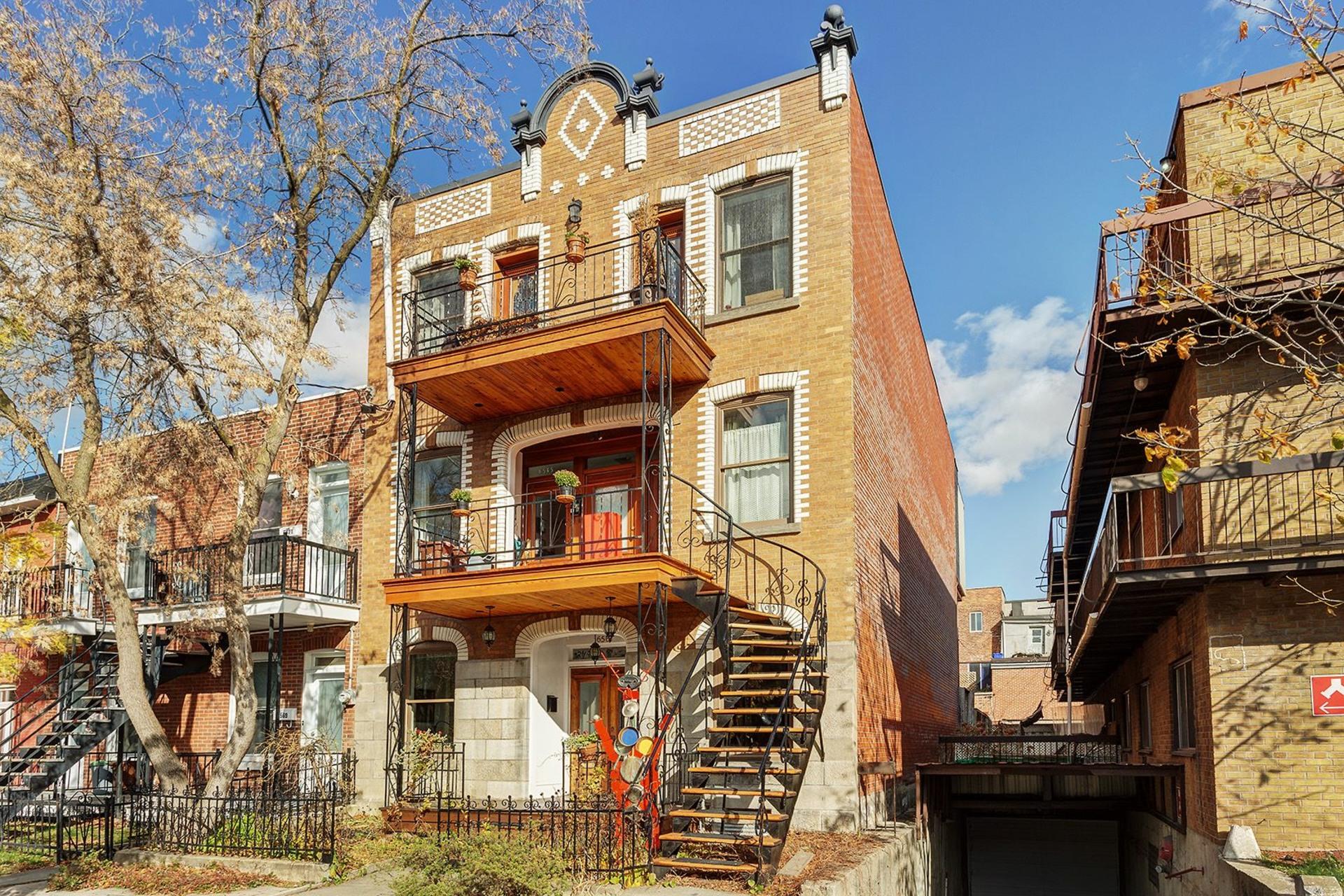 image 0 - Apartment For sale Rosemont/La Petite-Patrie Montréal  - 13 rooms