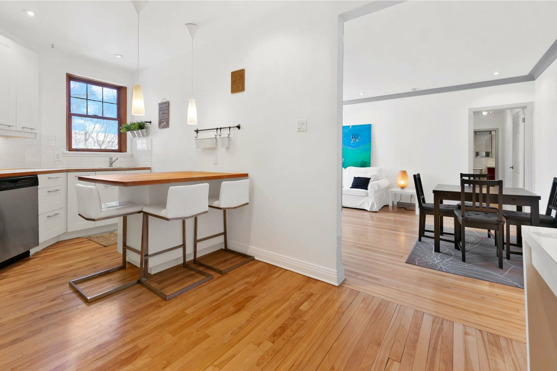 image 8 - Apartment For sale Côte-des-Neiges/Notre-Dame-de-Grâce Montréal  - 5 rooms