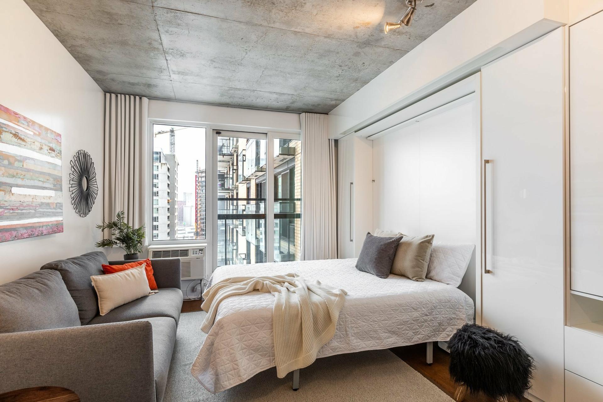 image 7 - Apartment For rent Le Sud-Ouest Montréal  - 2 rooms
