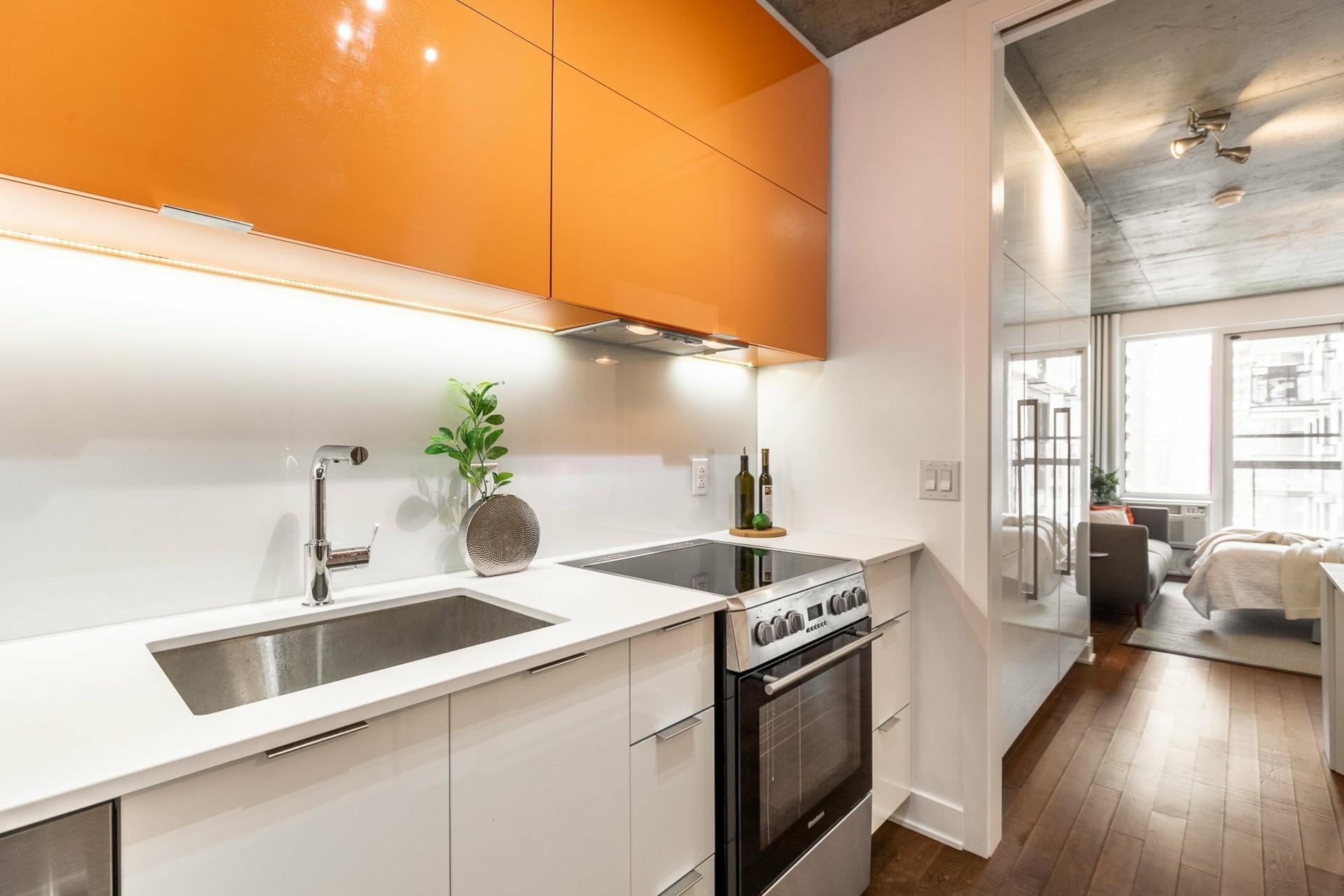 image 4 - Apartment For rent Le Sud-Ouest Montréal  - 2 rooms