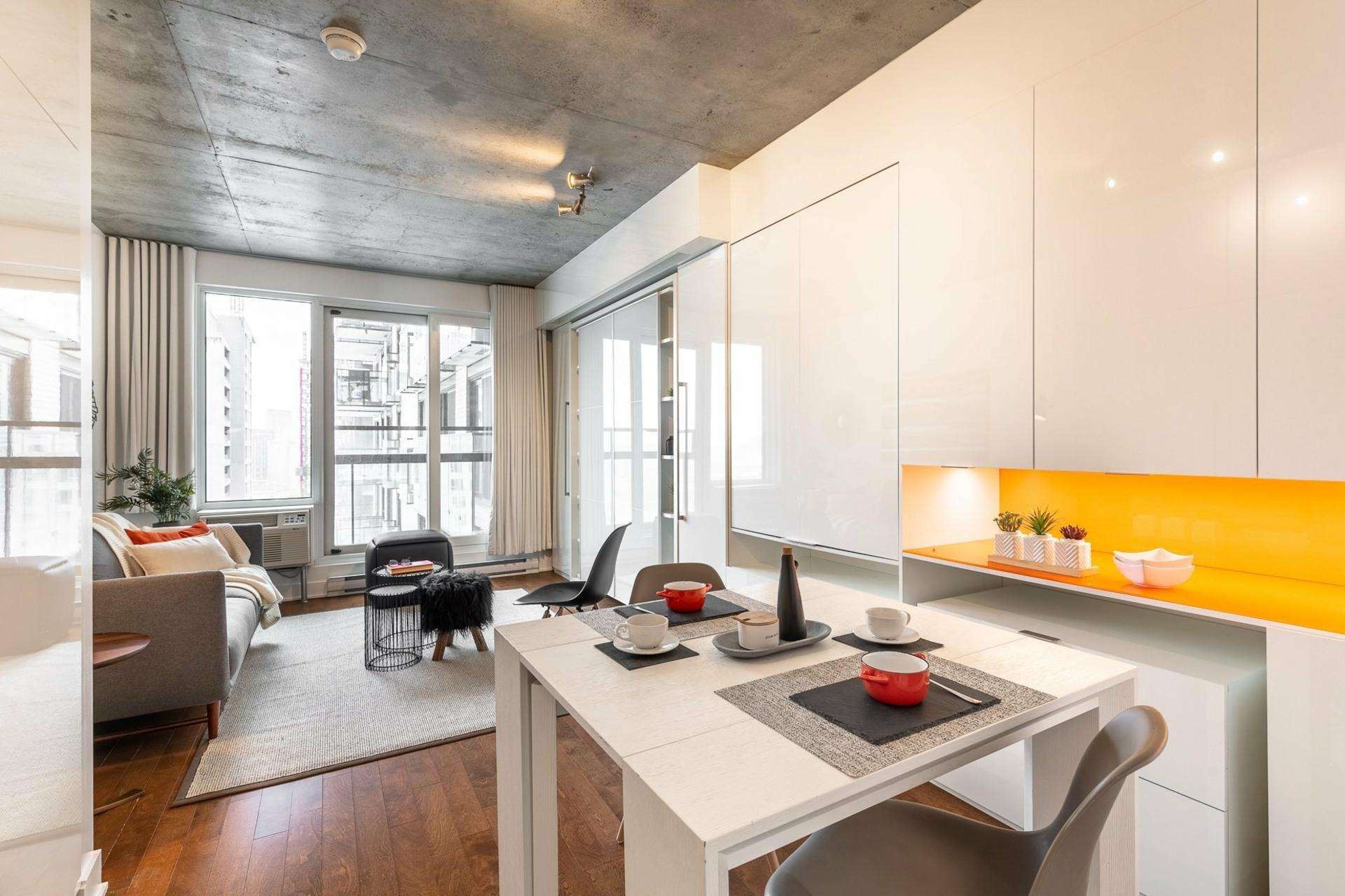 image 1 - Apartment For rent Le Sud-Ouest Montréal  - 2 rooms