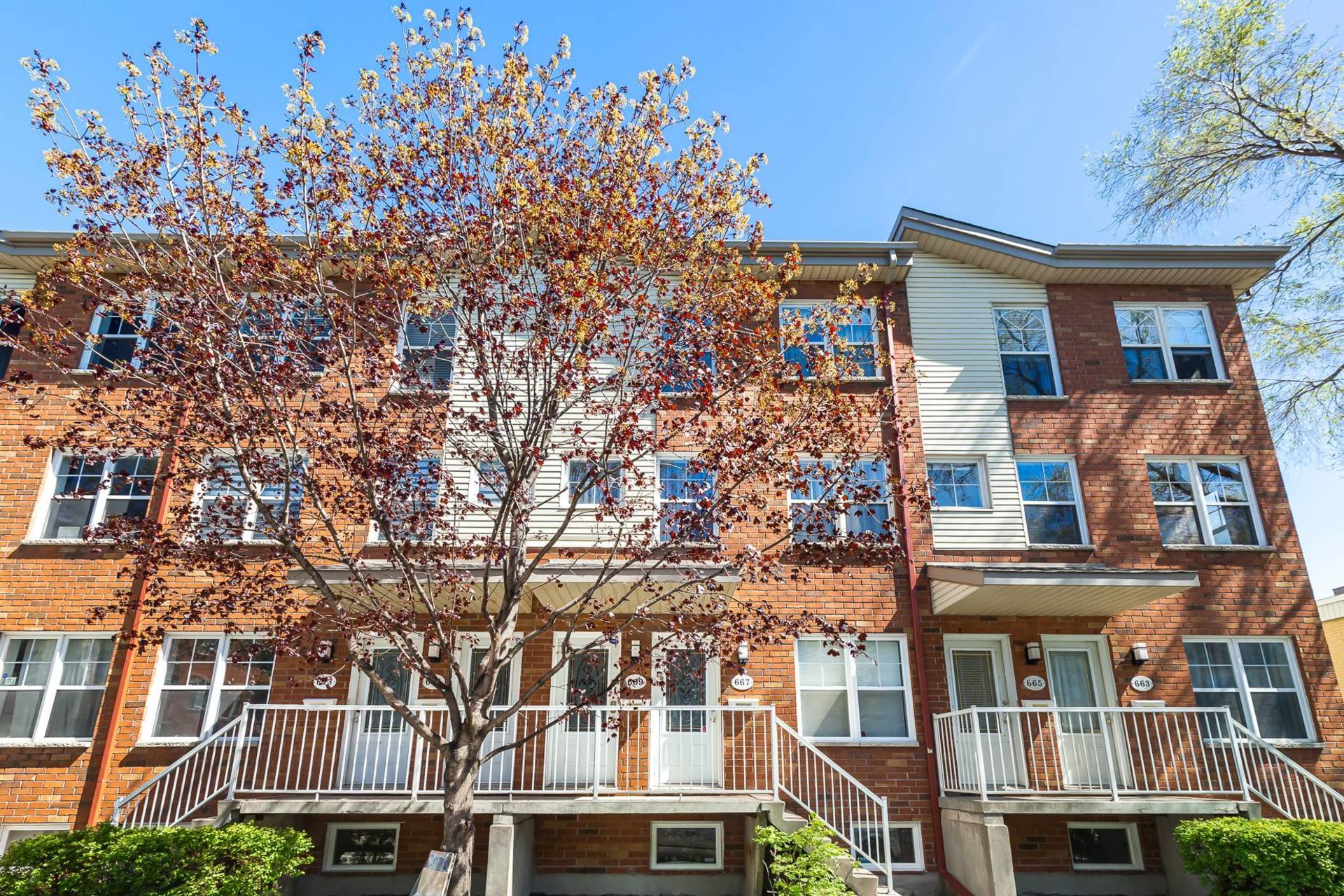 image 0 - Apartment For sale Mercier/Hochelaga-Maisonneuve Montréal  - 5 rooms
