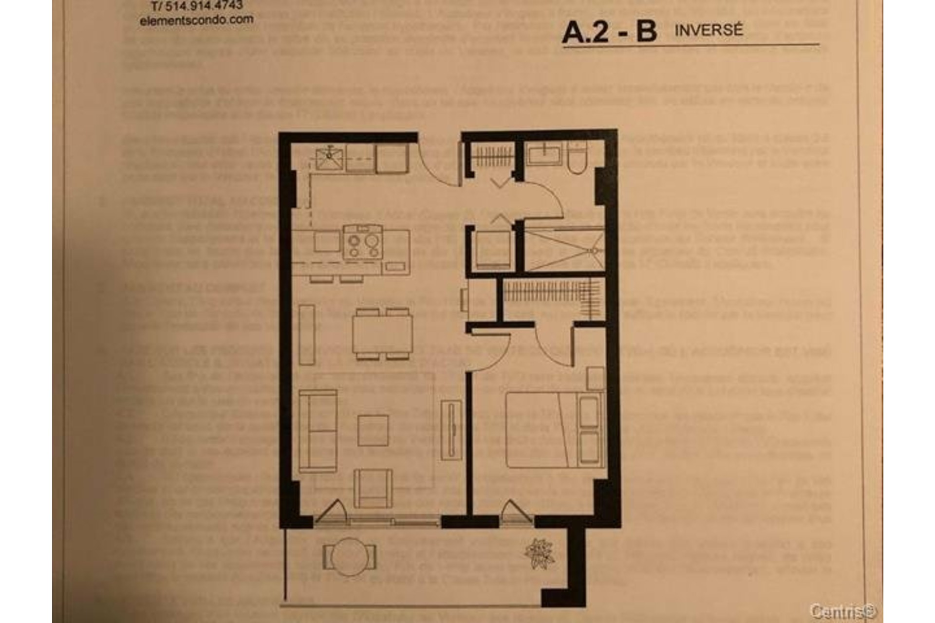 image 13 - Apartment For rent Le Sud-Ouest Montréal  - 5 rooms