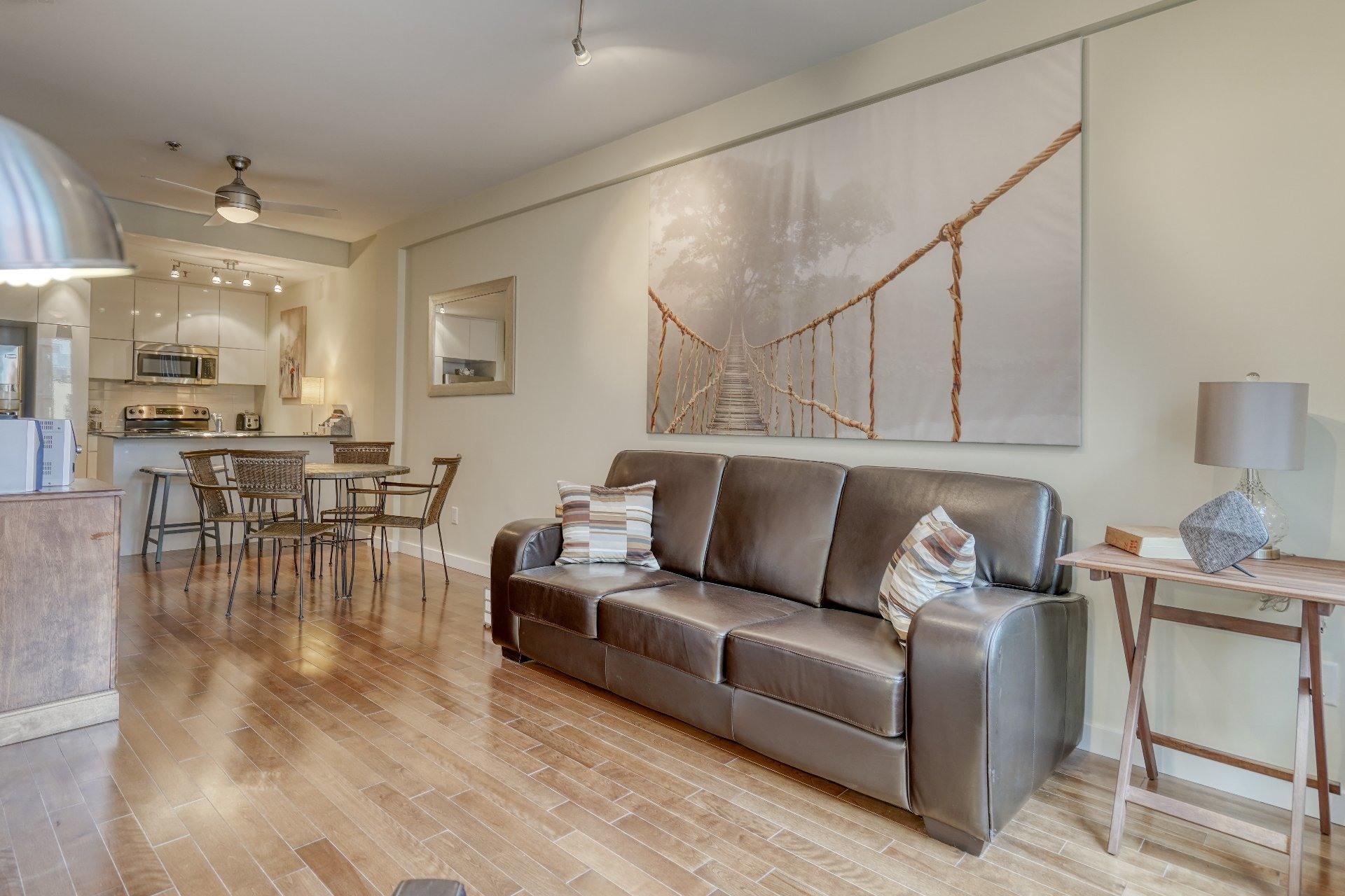 image 4 - Loft For rent Le Sud-Ouest Montréal  - 1 room