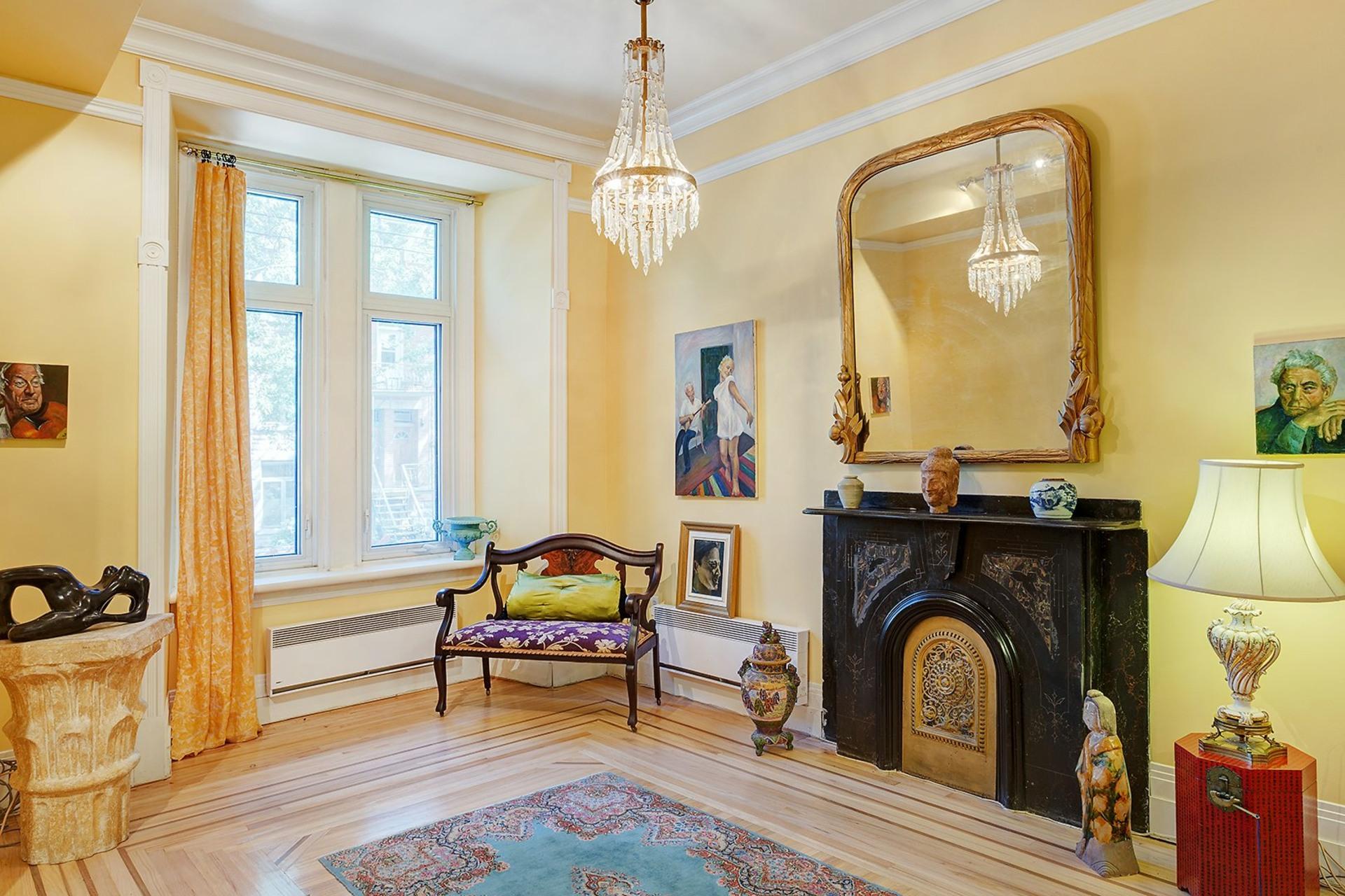 image 4 - House For sale Le Plateau-Mont-Royal Montréal  - 14 rooms