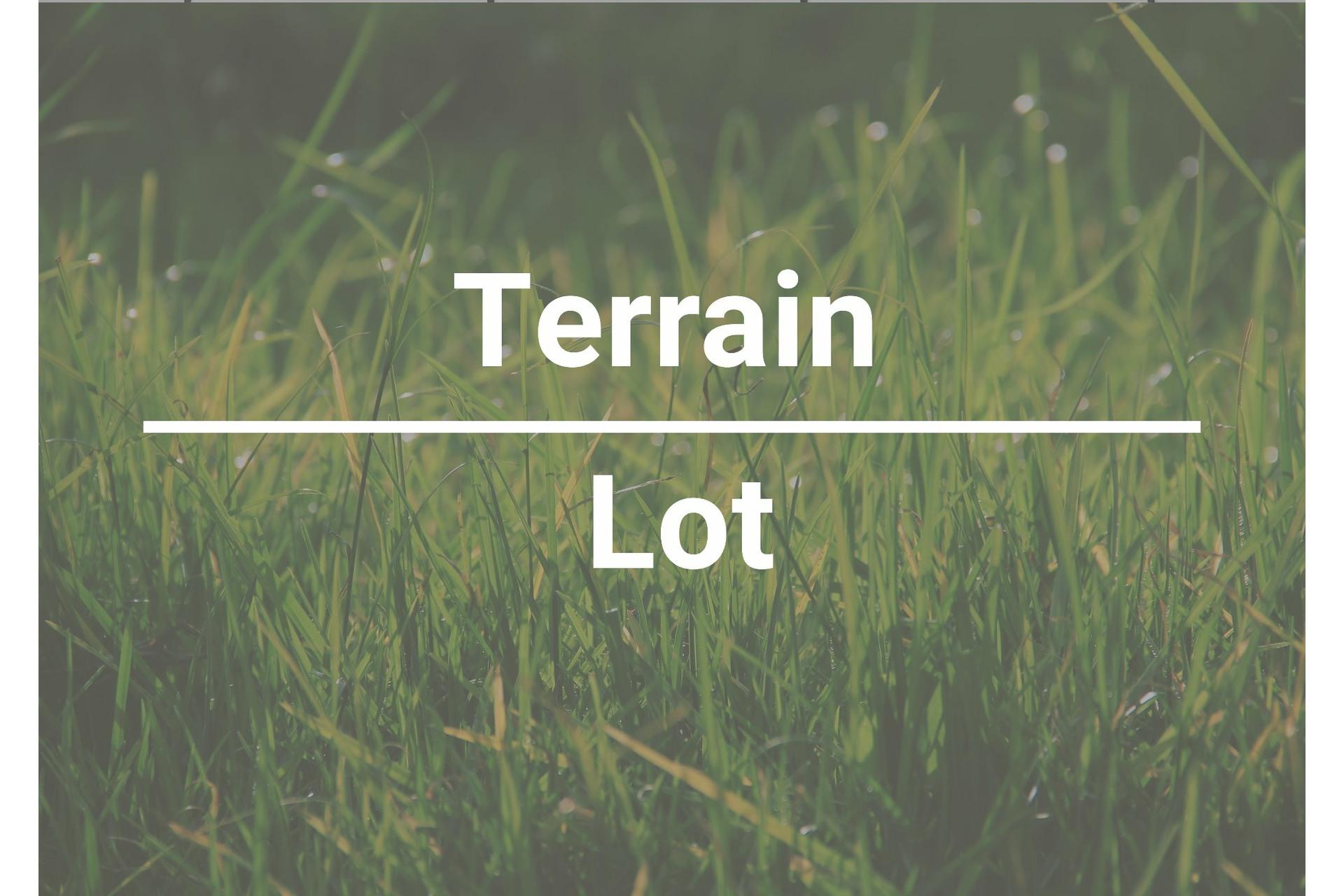 image 0 - Terrain À vendre Montréal-Est