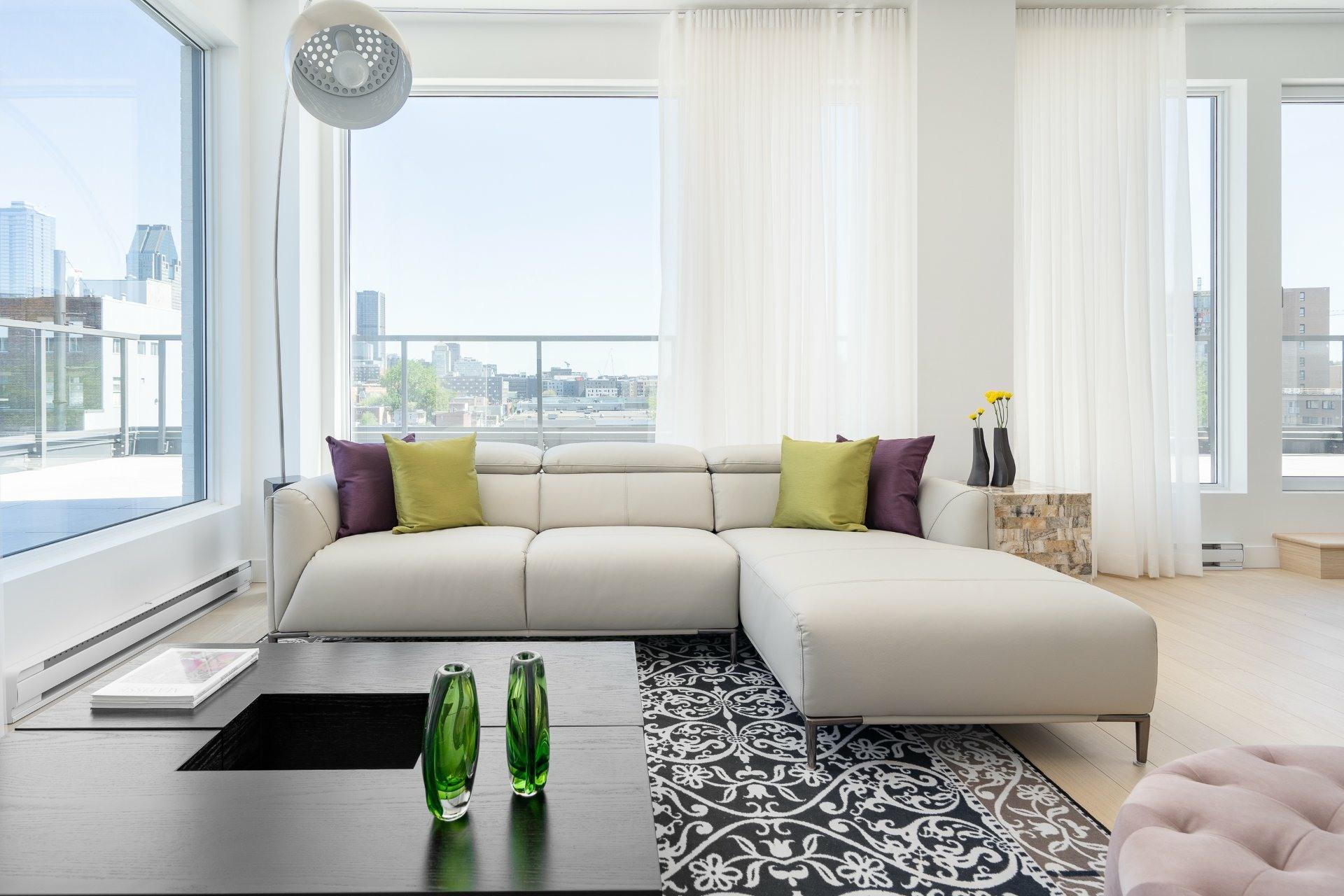 image 2 - Appartement À vendre Le Sud-Ouest Montréal  - 8 pièces