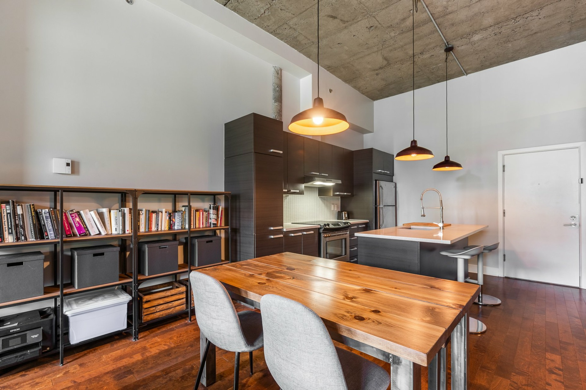 image 9 - Appartement À vendre Villeray/Saint-Michel/Parc-Extension Montréal  - 1 pièce