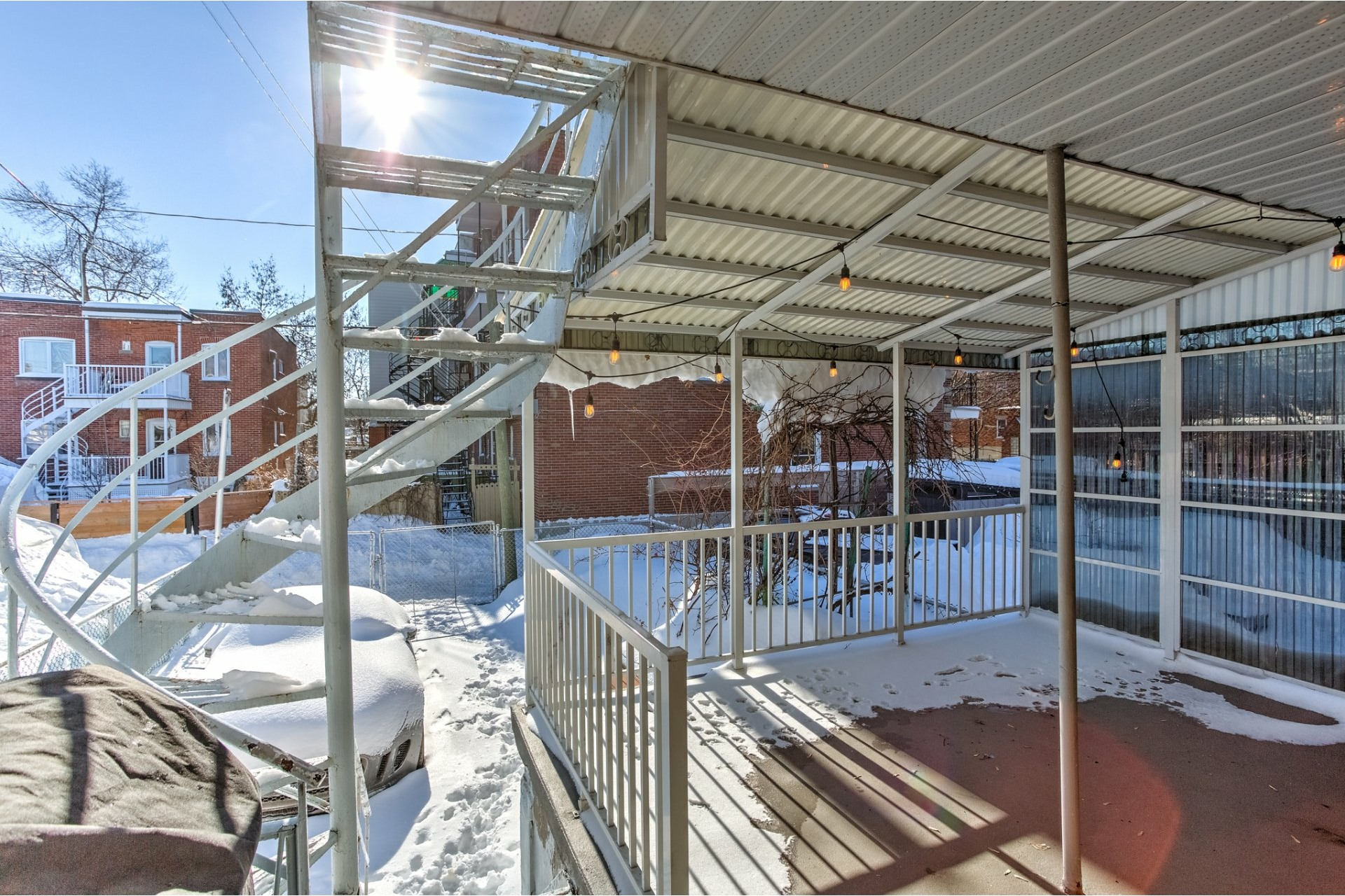 image 25 - Quadruplex For sale Rosemont/La Petite-Patrie Montréal  - 5 rooms
