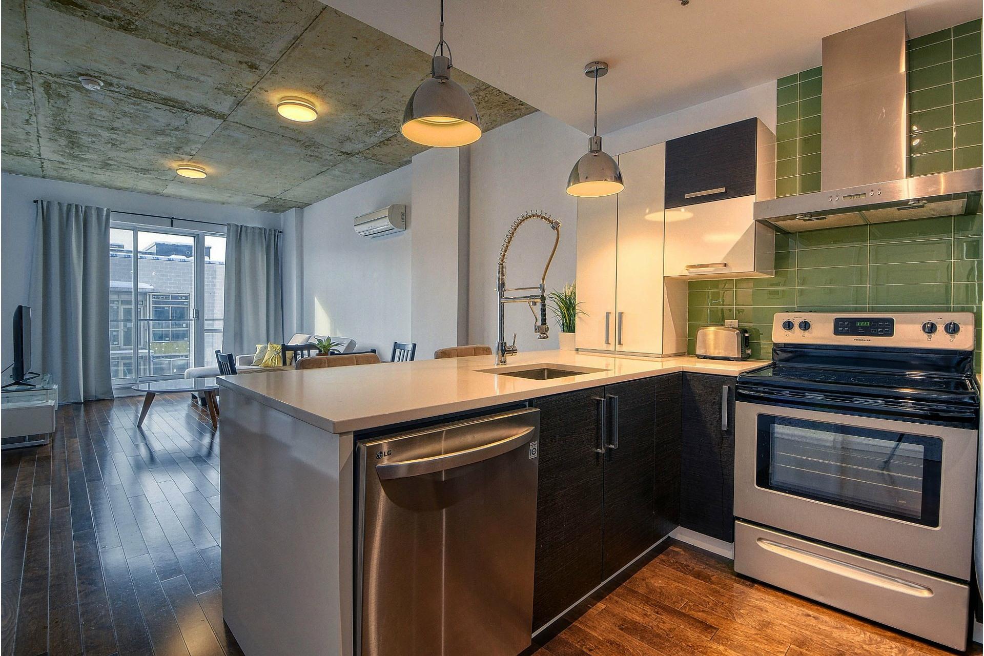 image 3 - Apartment For sale Le Sud-Ouest Montréal  - 4 rooms