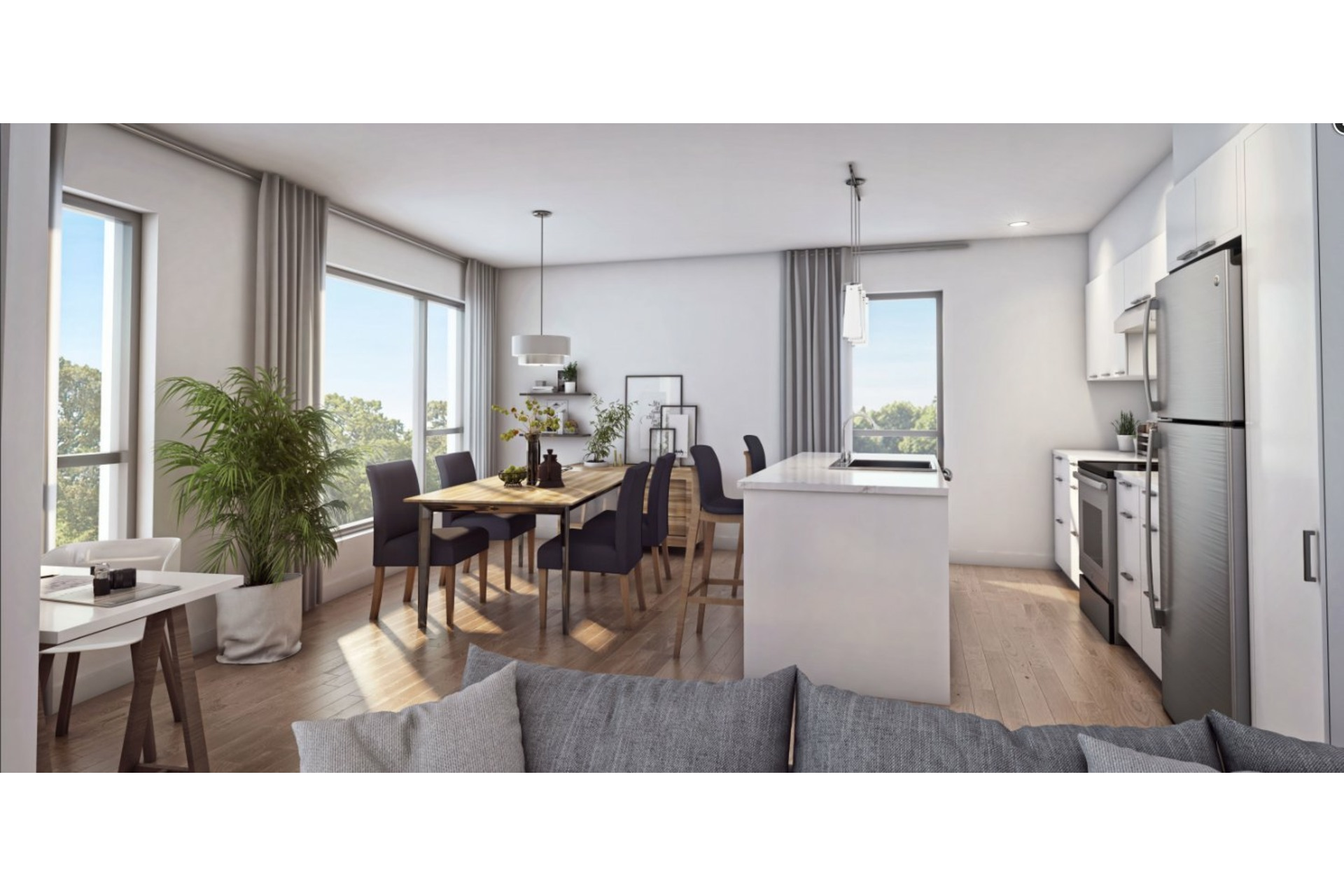 image 3 - Appartement À vendre Rosemont/La Petite-Patrie Montréal  - 5 pièces