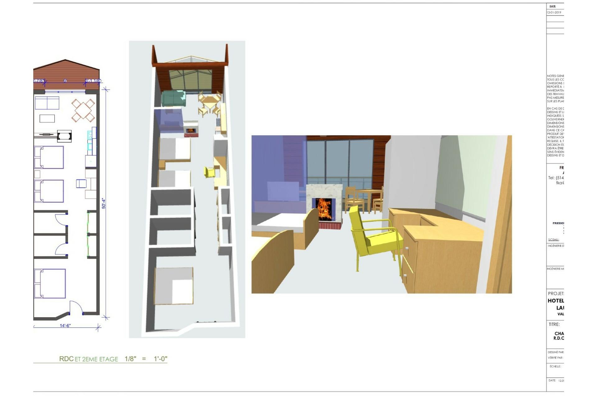 image 6 - Appartement À vendre Val-Morin - 5 pièces