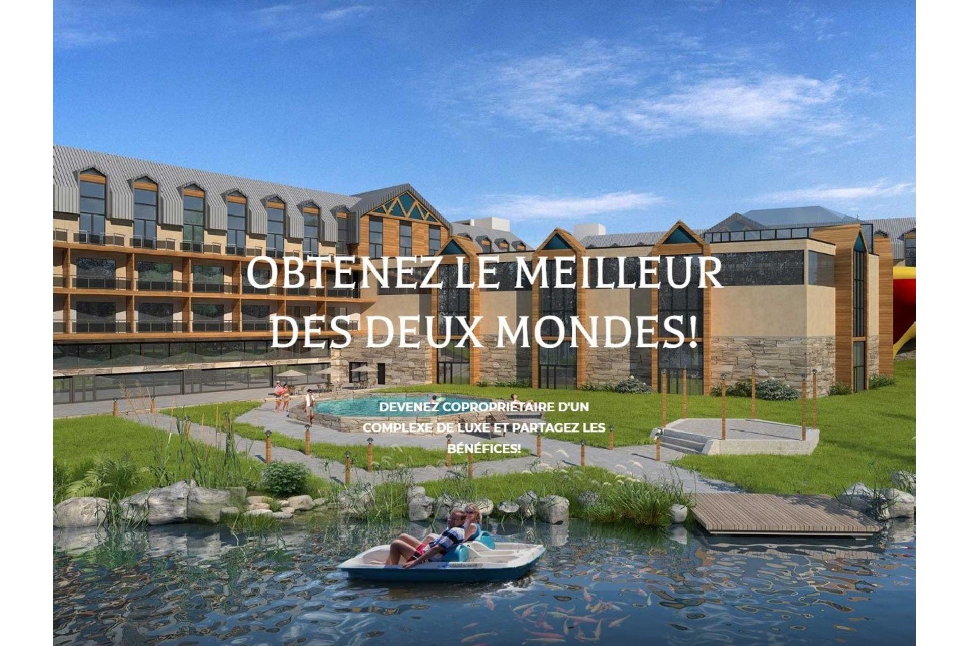 image 1 - Appartement À vendre Val-Morin - 3 pièces