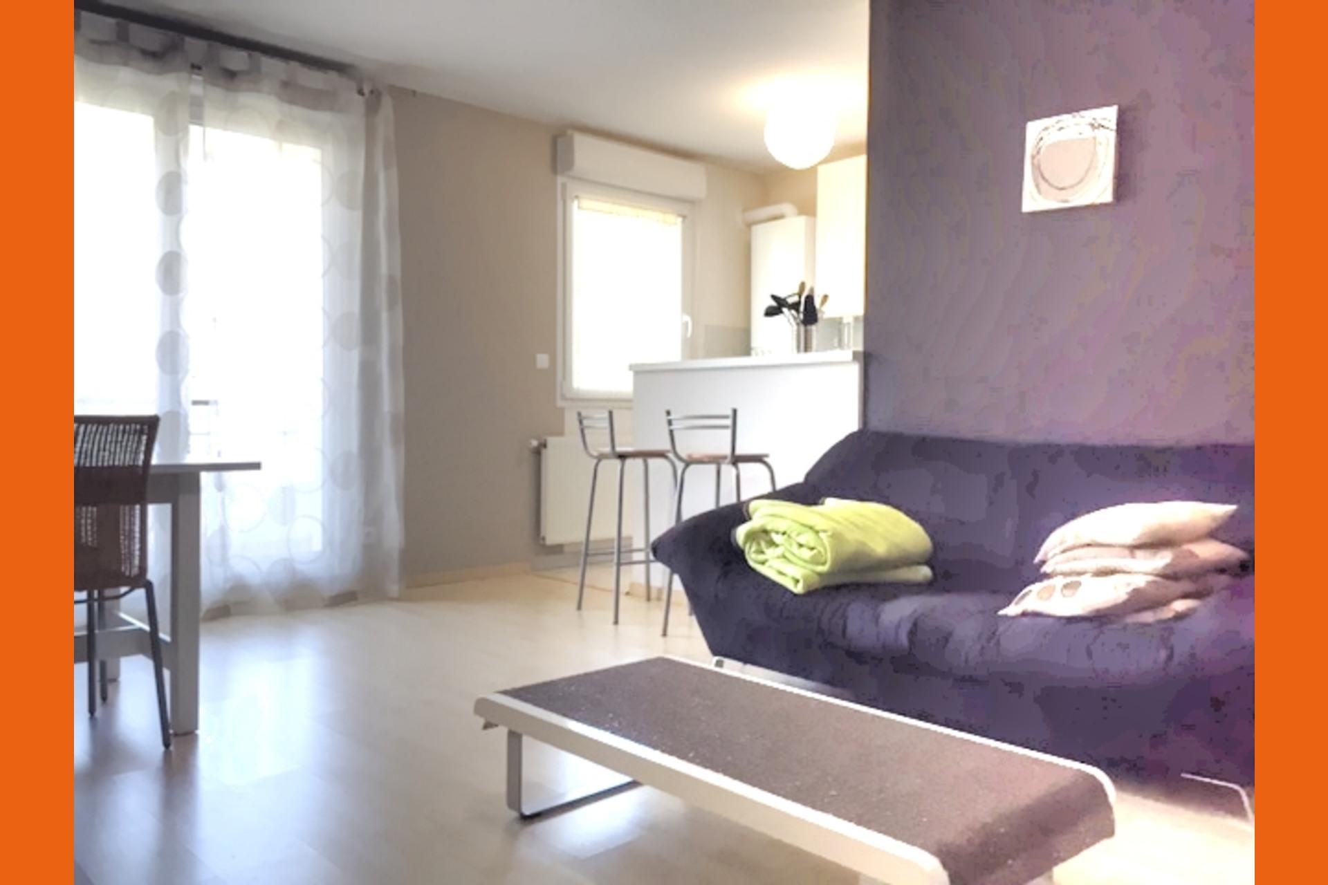 image 2 - Appartement À louer Moulins-lès-Metz - 2 pièces