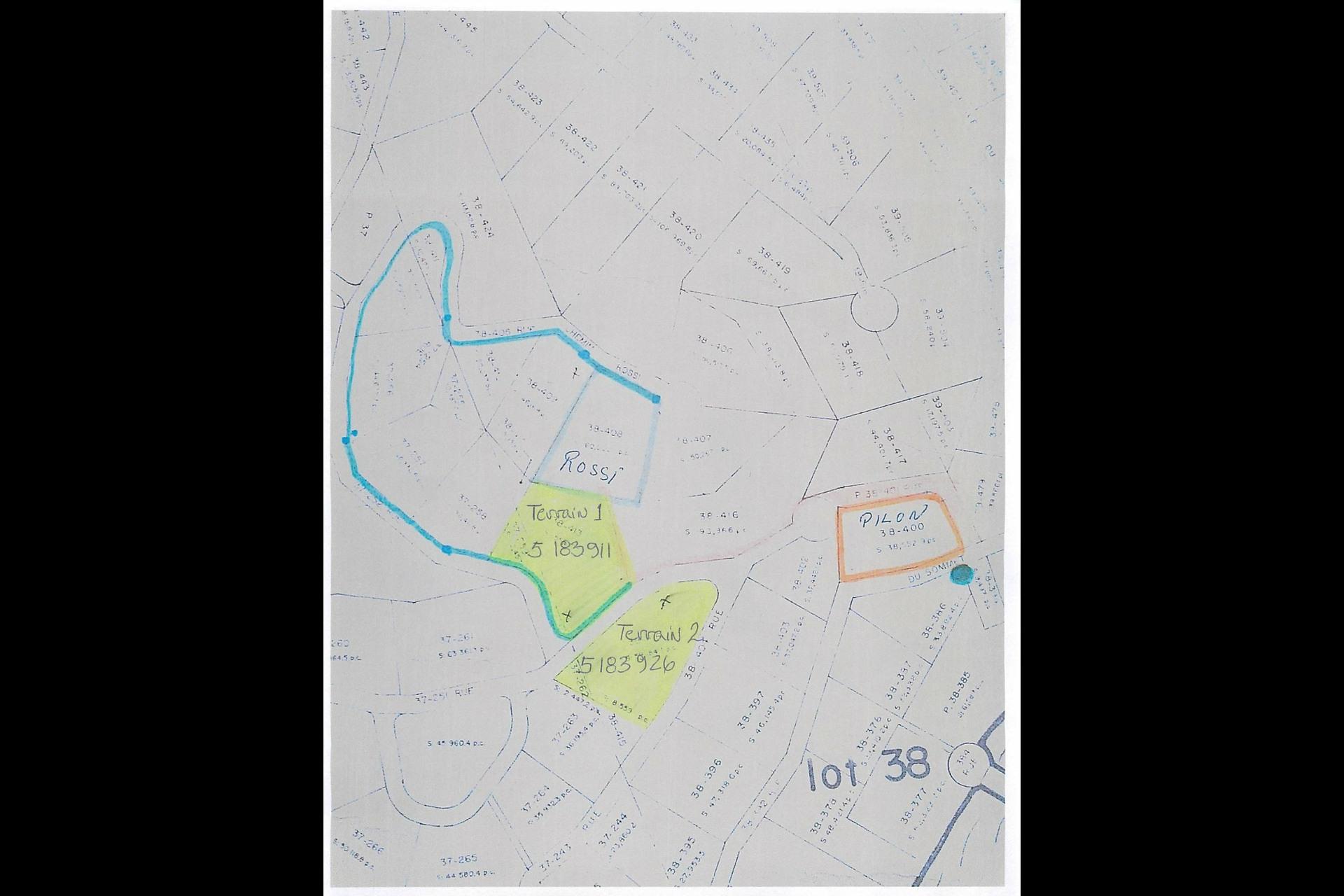 image 0 - Terrain À vendre Chertsey