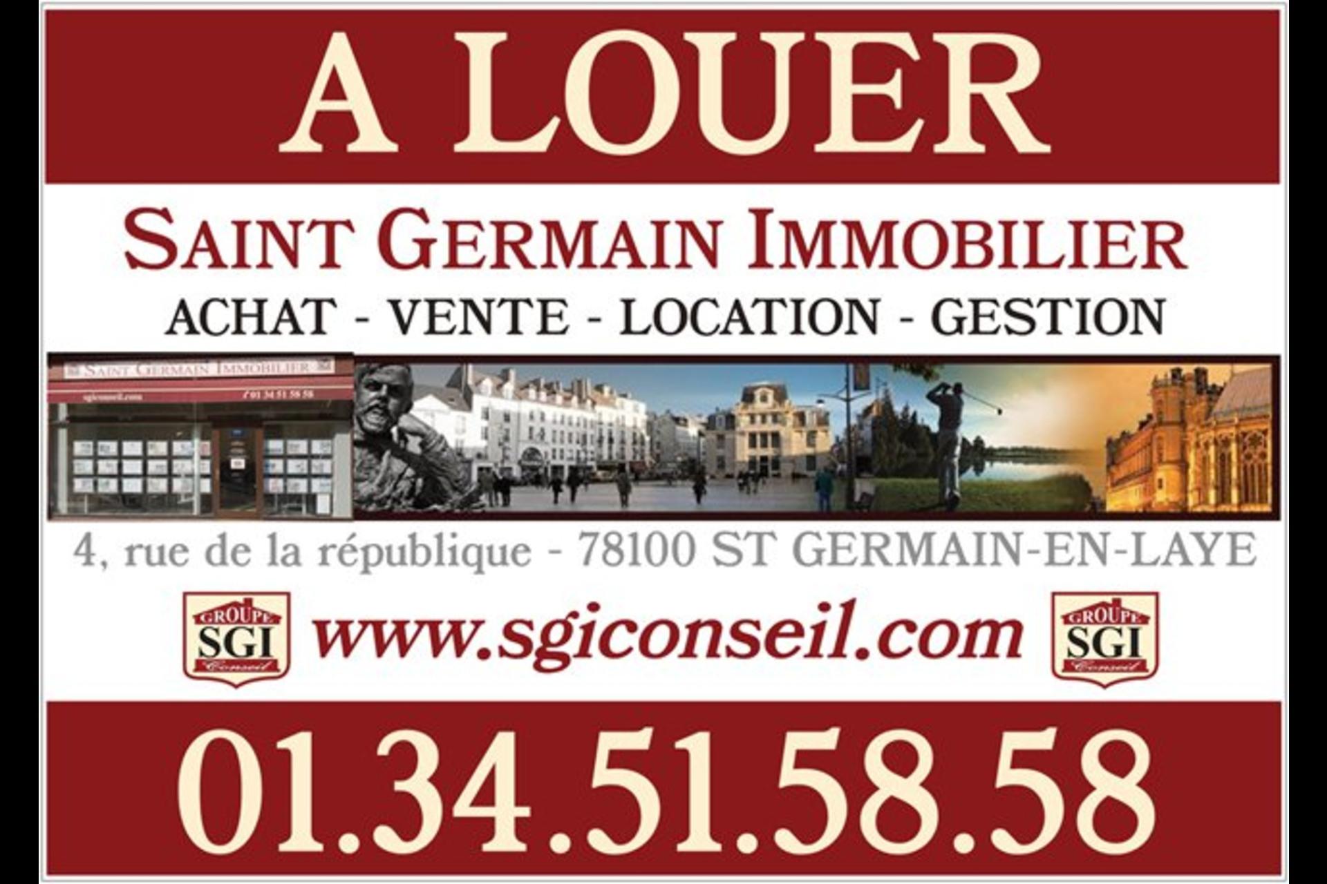 image 5 - Appartement À louer saint germain en laye - 2 pièces