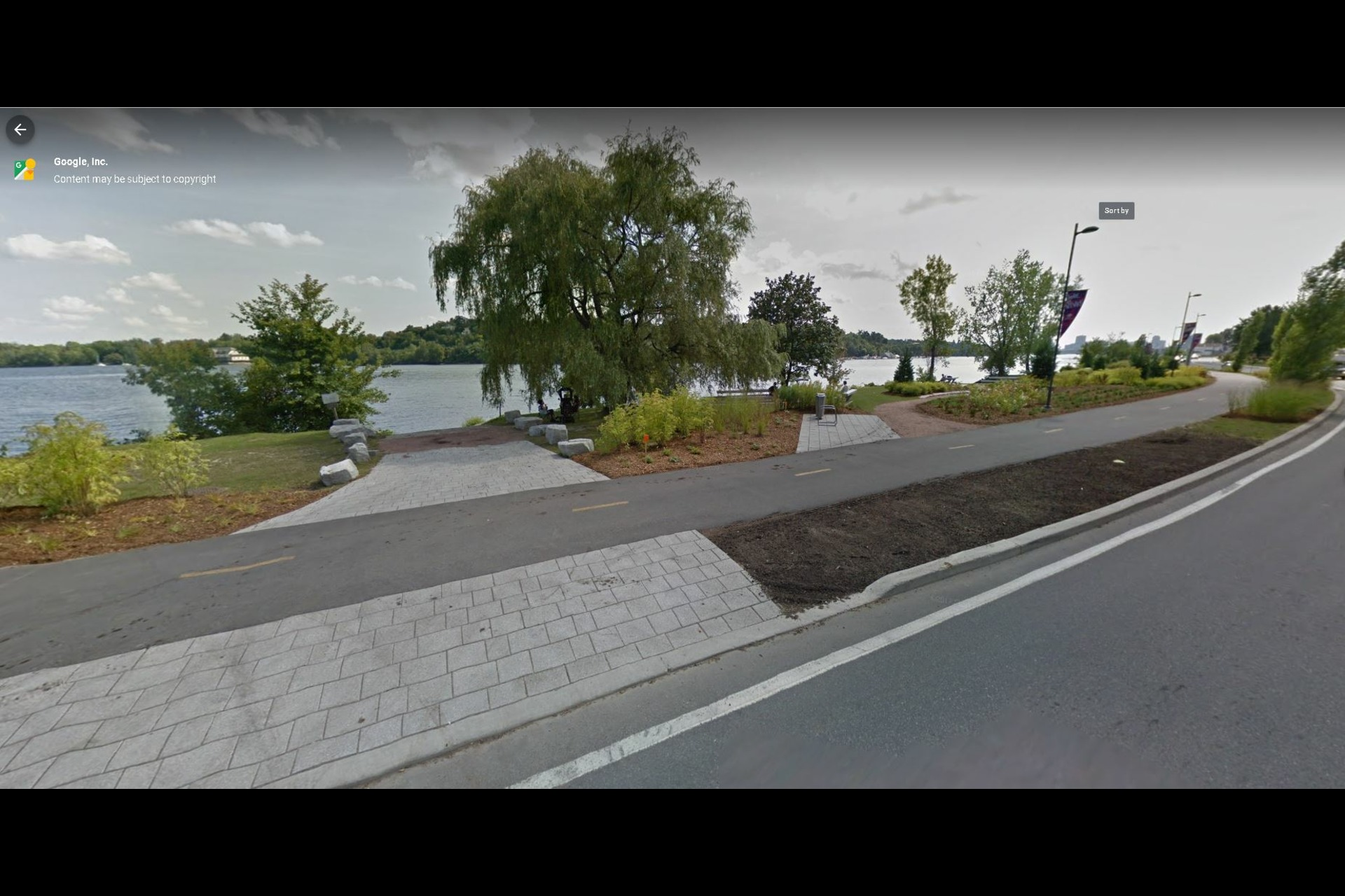 image 13 - Waterfront Short rental Gatineau District des Riverains - 1 room